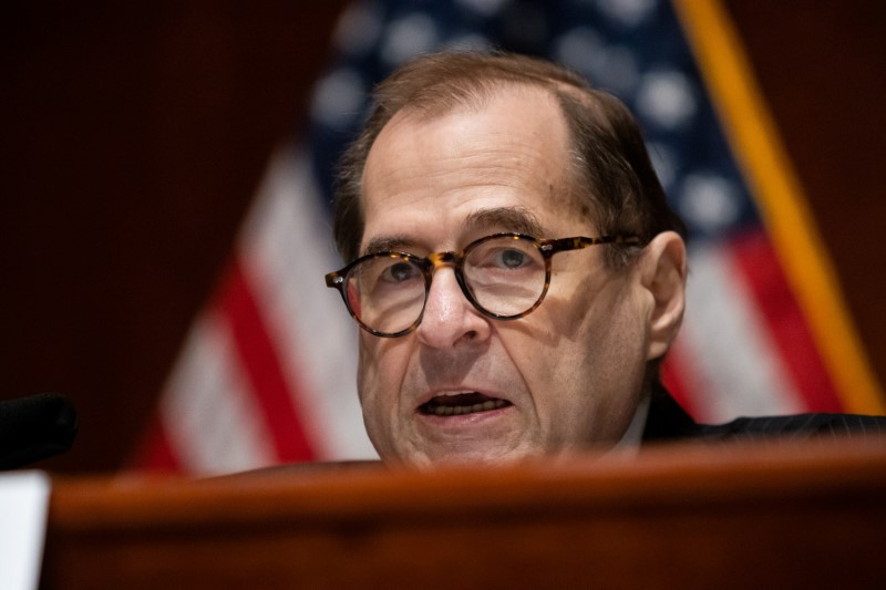 House Judiciary Chairman Jerry Nadler (D-NY), speaks during a House Judiciary Committee hearing on