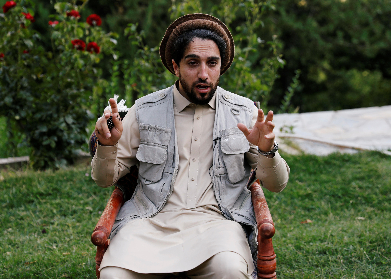 Anti Taliban leader Massoud wants to talk but ready to fight   Reuters