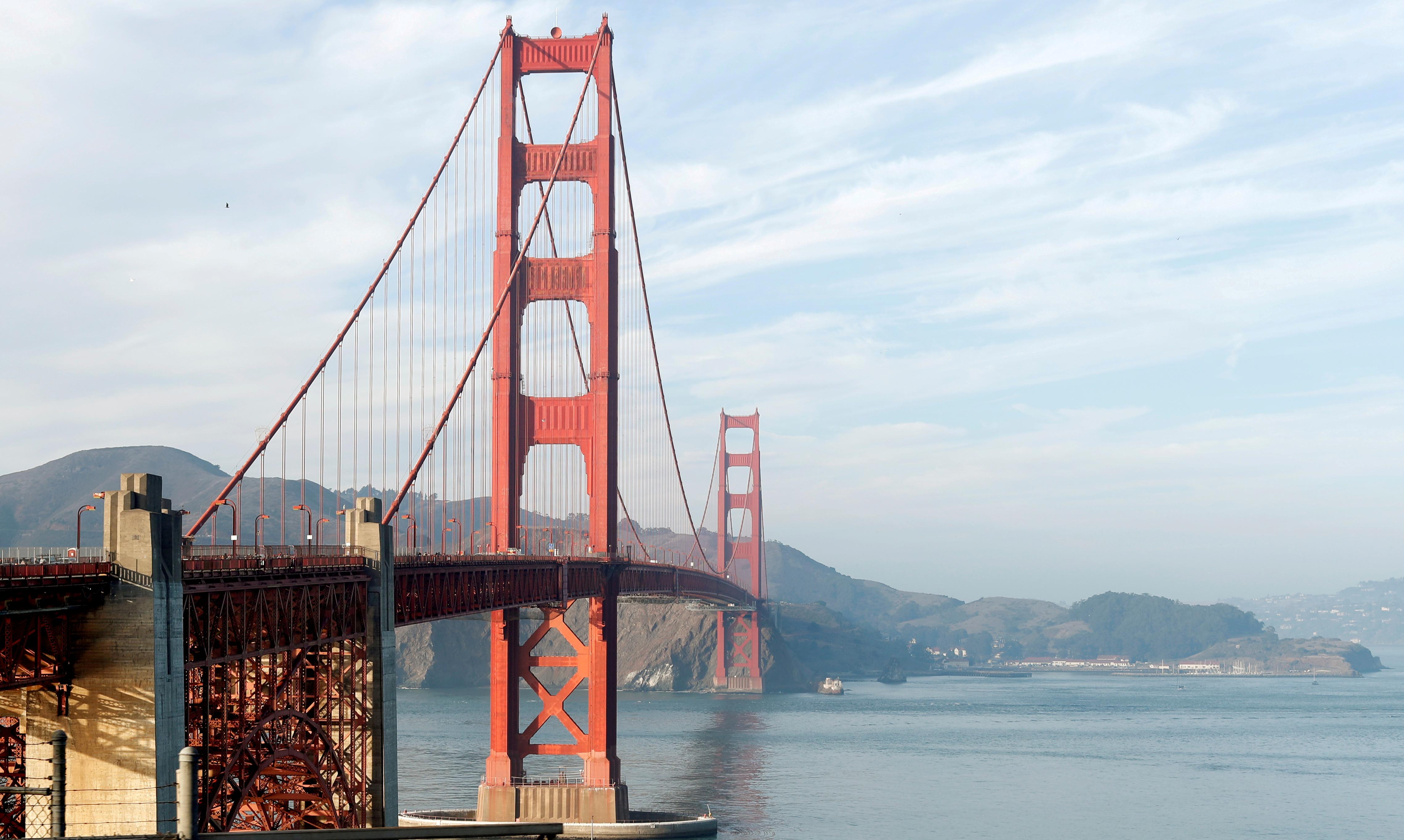A view of the Golden Gate Bridge in San Francisco, California, U.S., November 20, 2018. REUTERS/Mario Anzuoni/File Photo