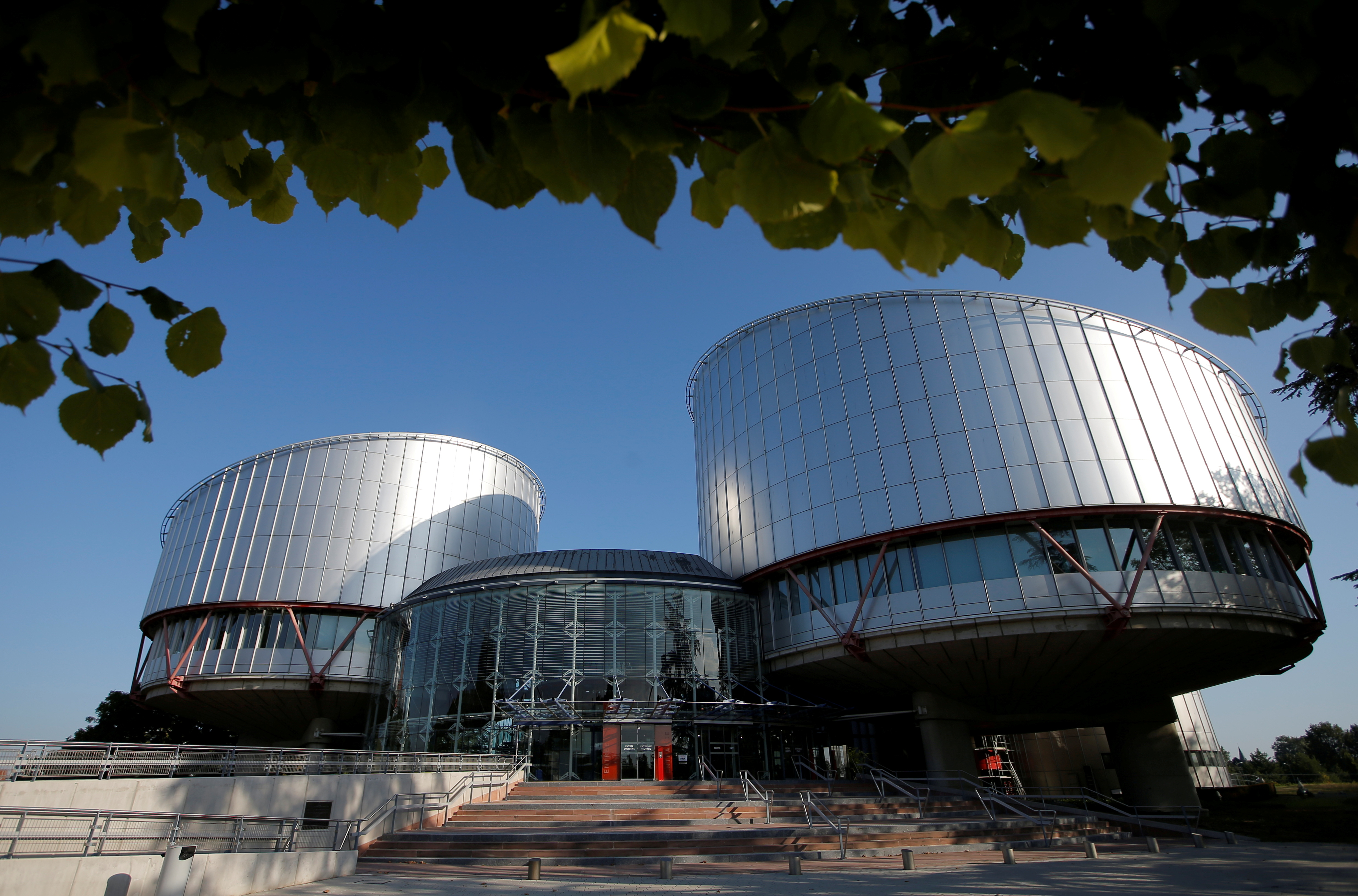 The building of the European Court of Human Rights is seen in Strasbourg, France, September 11, 2019.  REUTERS/Vincent Kessler/File Photo