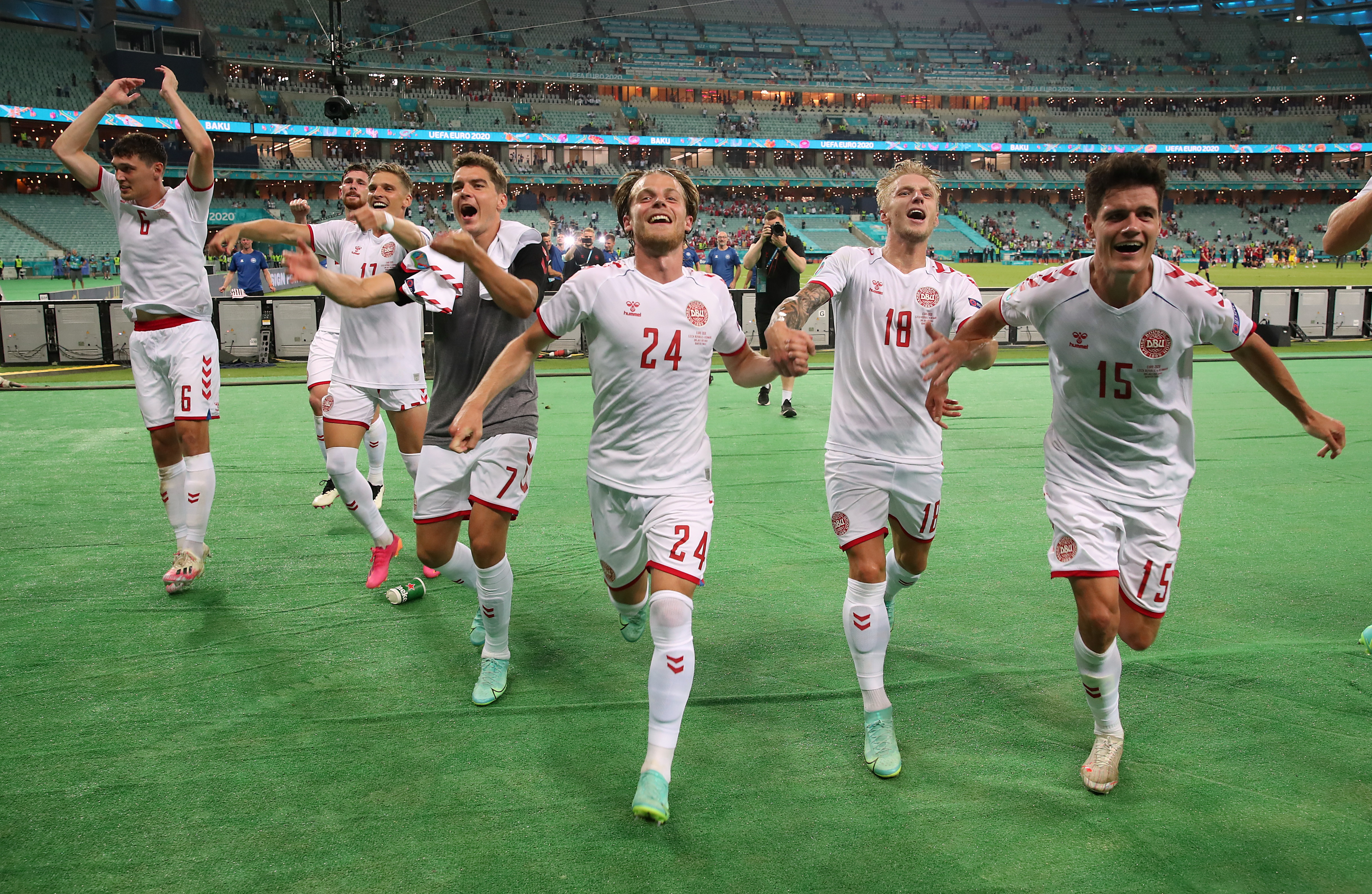 Denmark Reach Euro Semis After Proving Too Strong For Czechs Reuters