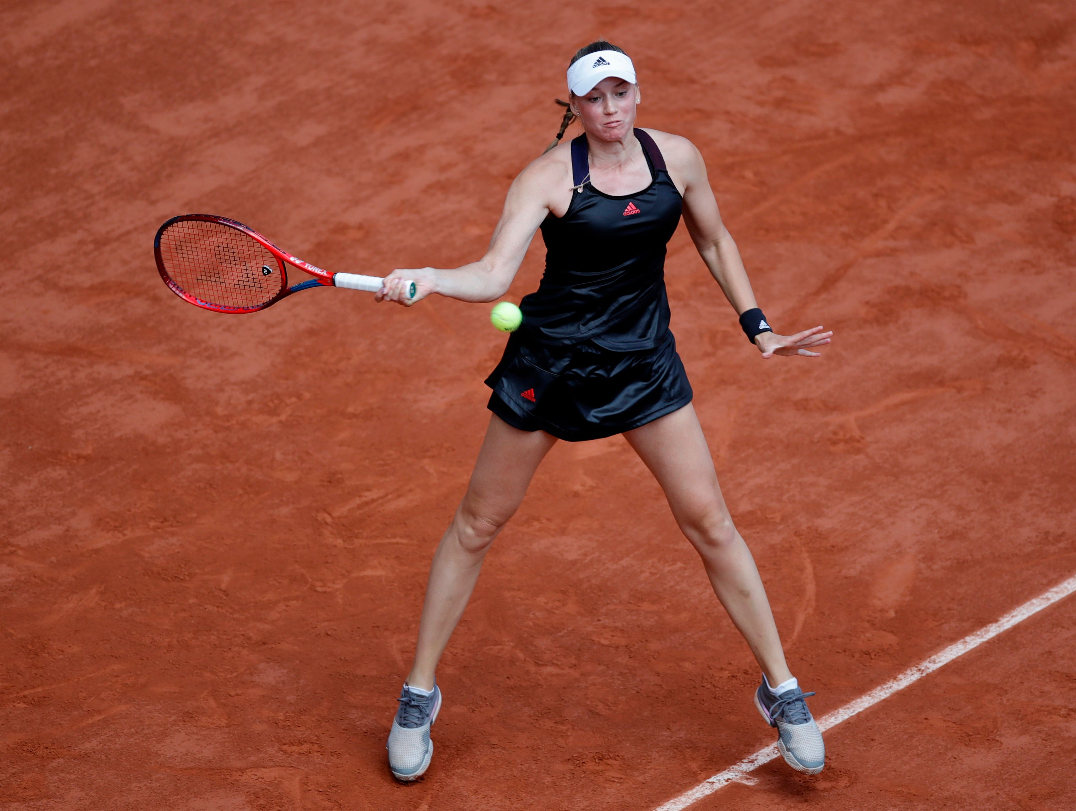 Rybakina stays cool after win over Serena | Reuters