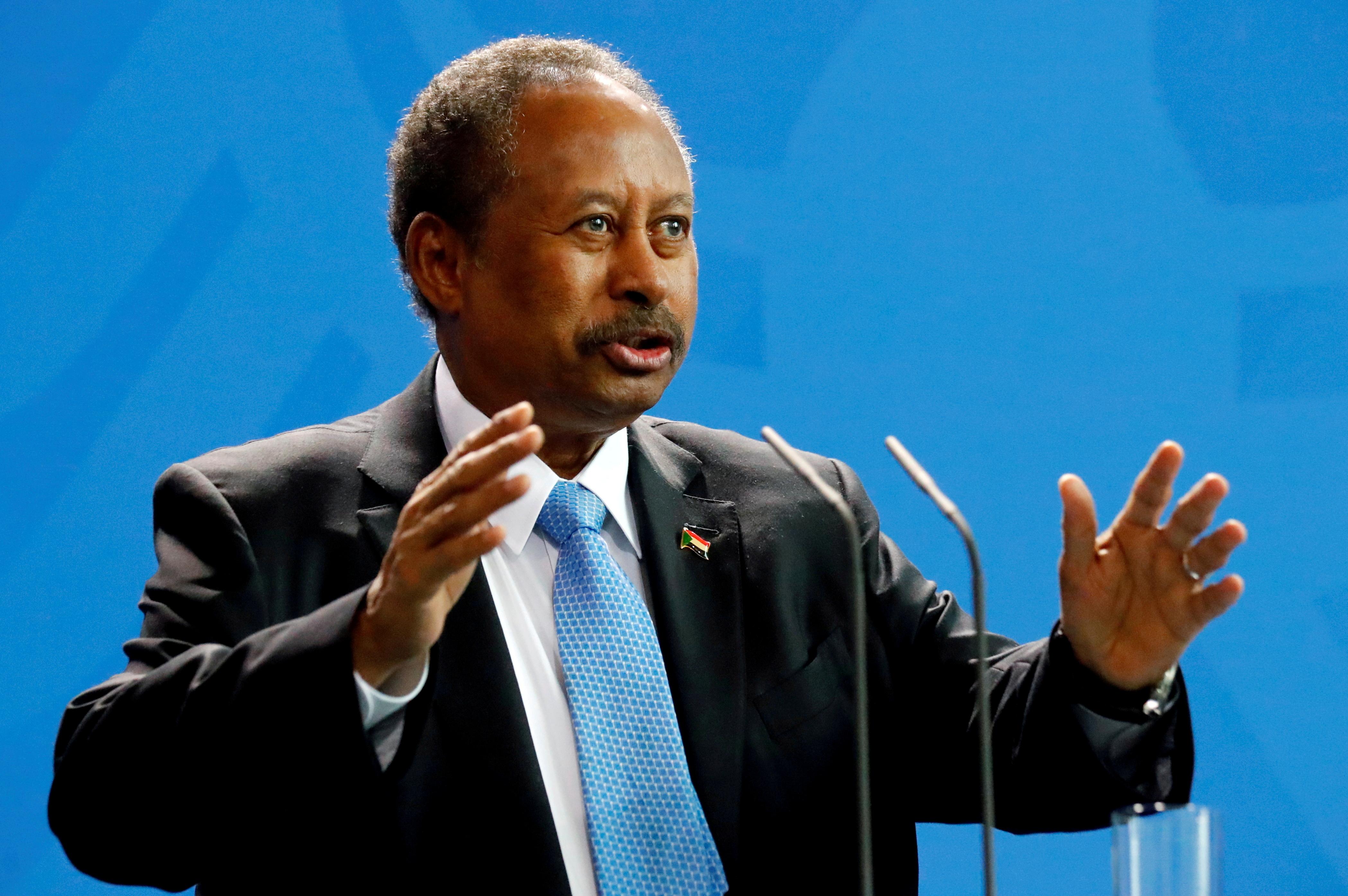 Sudan's PM Hamdok presents road map out of crisis