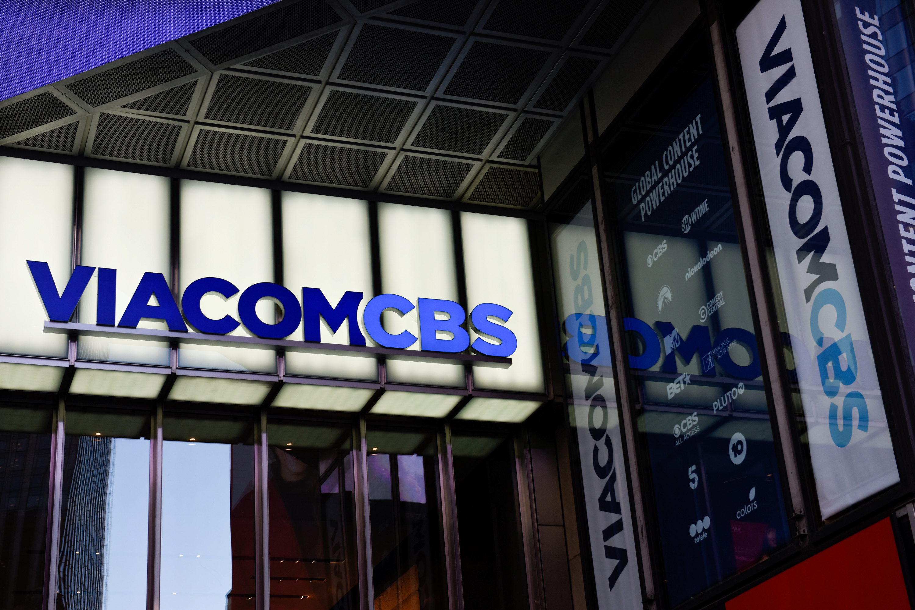 ViacomCBS headquarters is pictured in New York, New York, U.S. December 5, 2019. REUTERS/Kate Munsch
