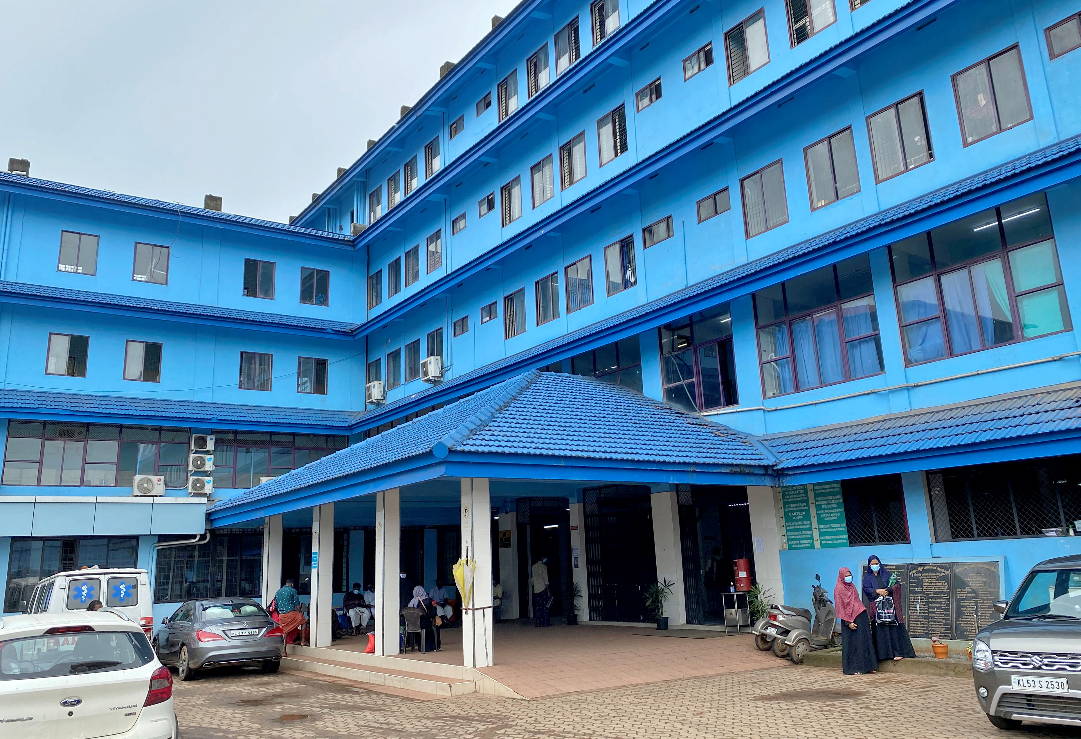 A general view of the Government Medical College Hospital in Manjeri, in the Malappuram district of the southern state of Kerala, India. August 18, 2021. Picture taken August 18, 2021. REUTERS/Krishna N. Das
