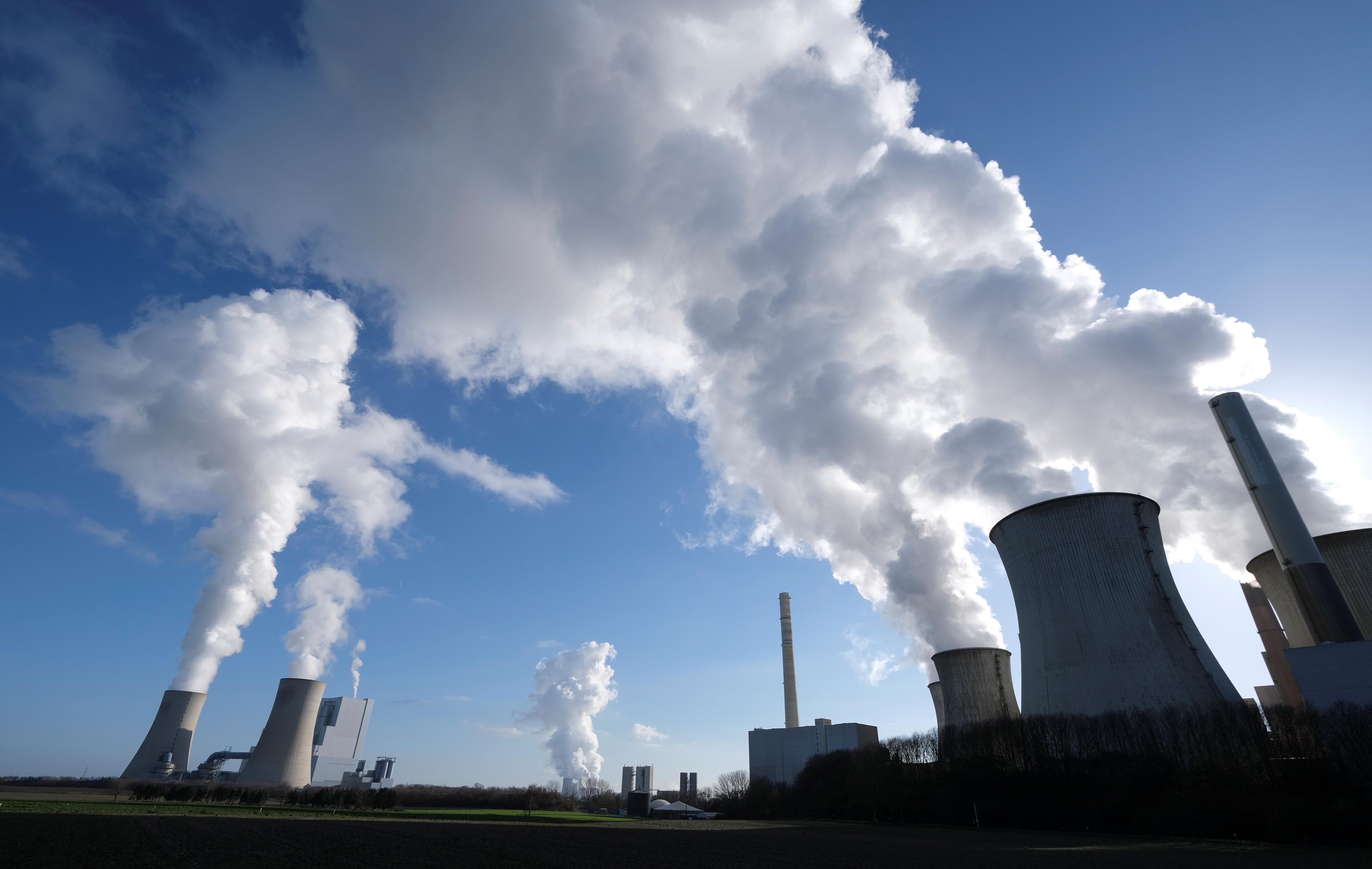 The lignite power plants of
