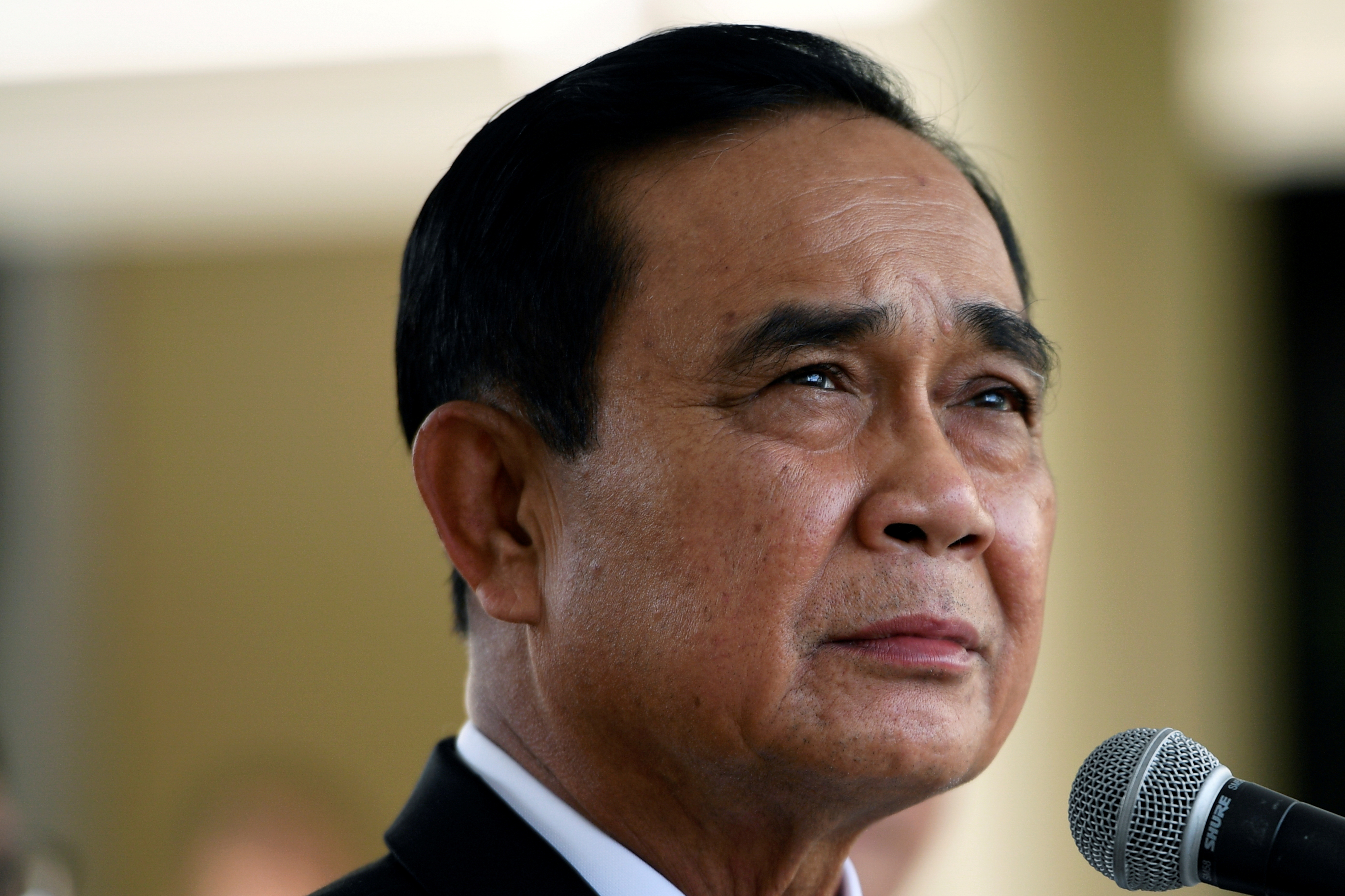 Thai Prime Minister Prayuth Chan-ocha at Government House, in Bangkok, Thailand November 27, 2020. REUTERS/Chalinee Thirasupa/Pool
