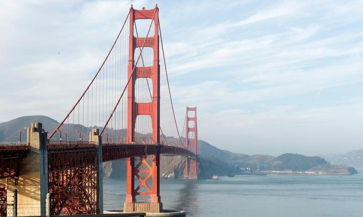 A view of the Golden Gate Bridge in San Francisco, California, U.S., November 20, 2018. Picture taken November 20, 2018. REUTERS/Mario Anzuoni