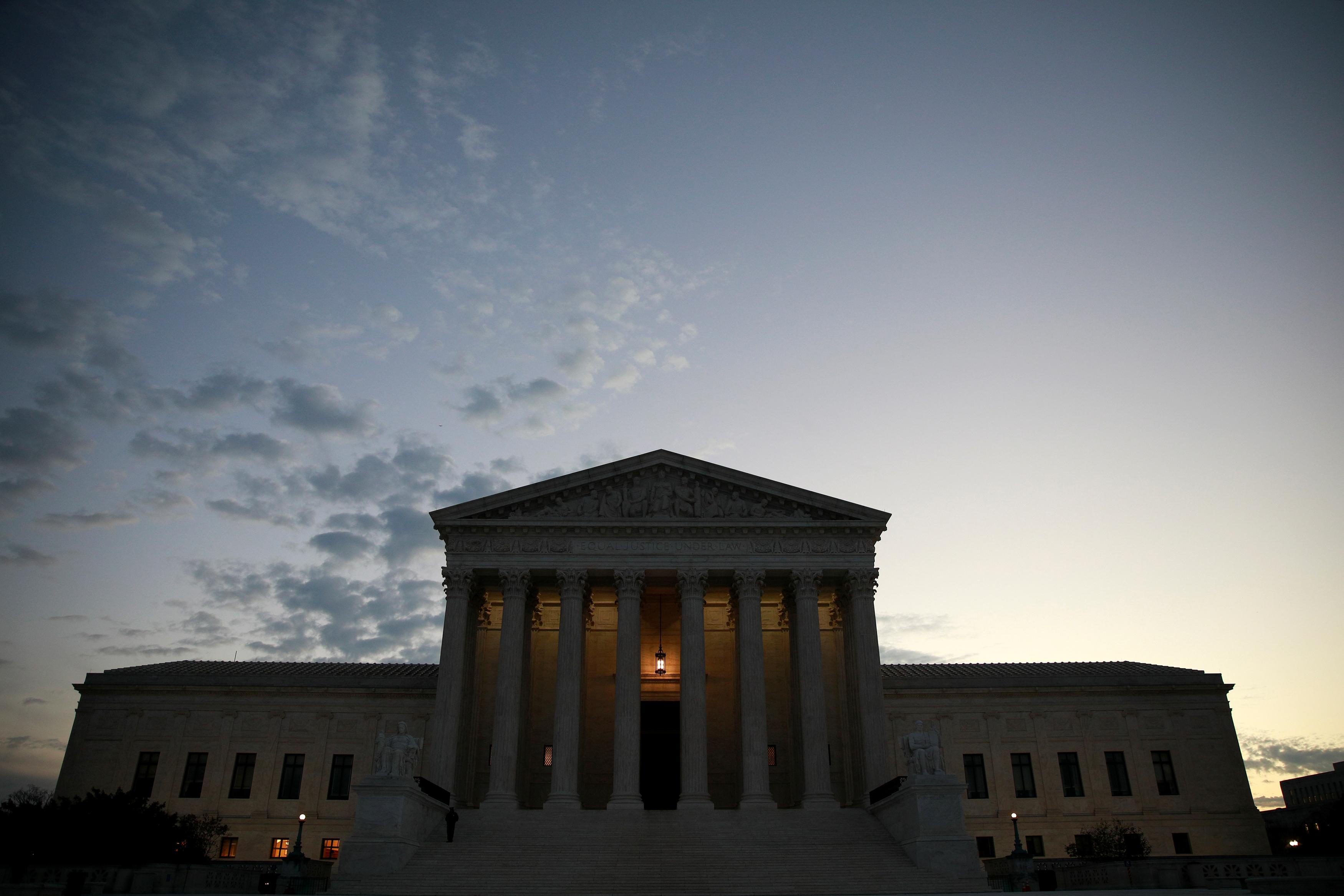 The U.S. Supreme Court building.  REUTERS/Jim Young