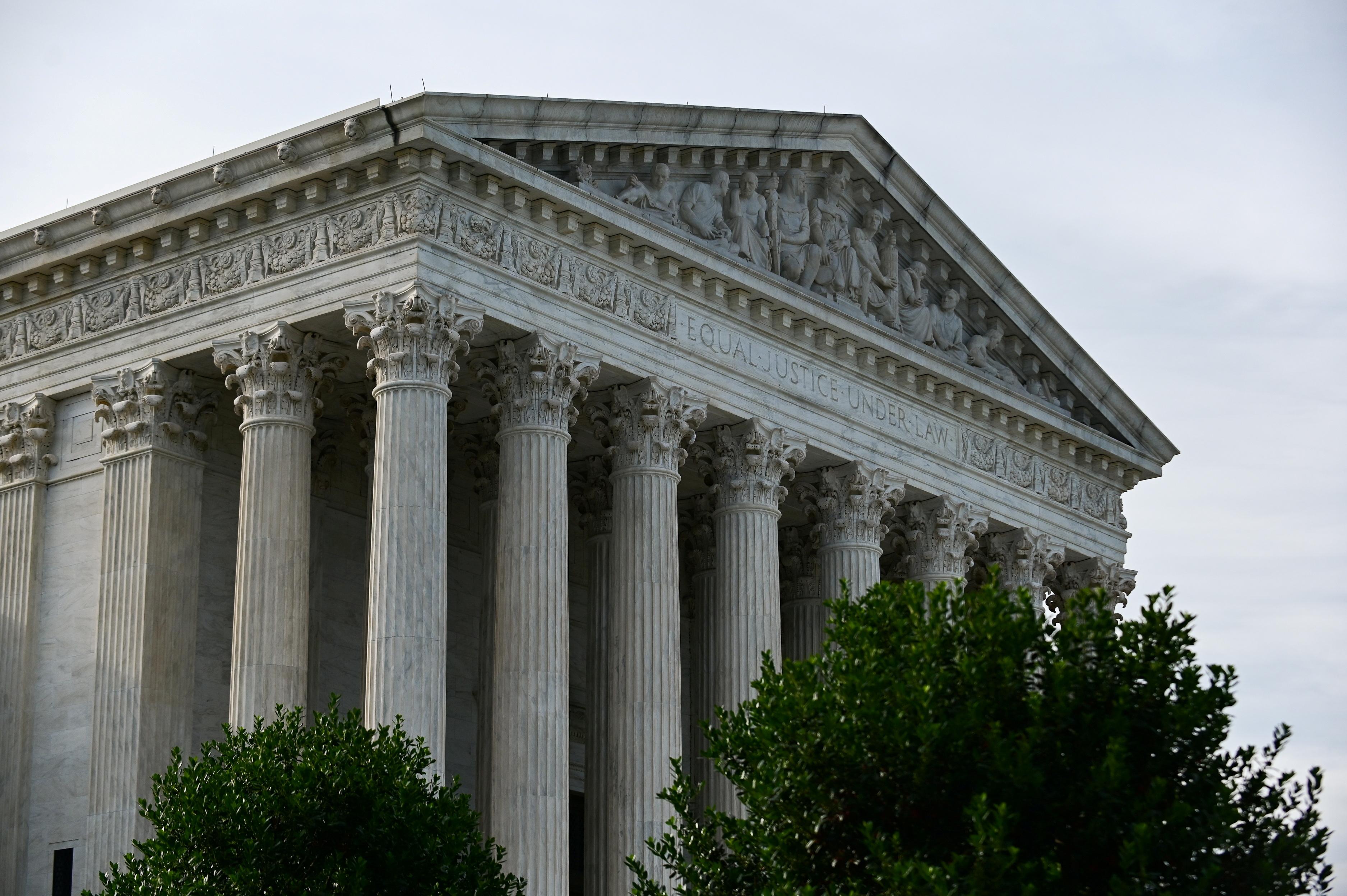 A view of the U.S. Supreme Court in Washington, U.S., June 1, 2021. REUTERS/Erin Scott/File Photo