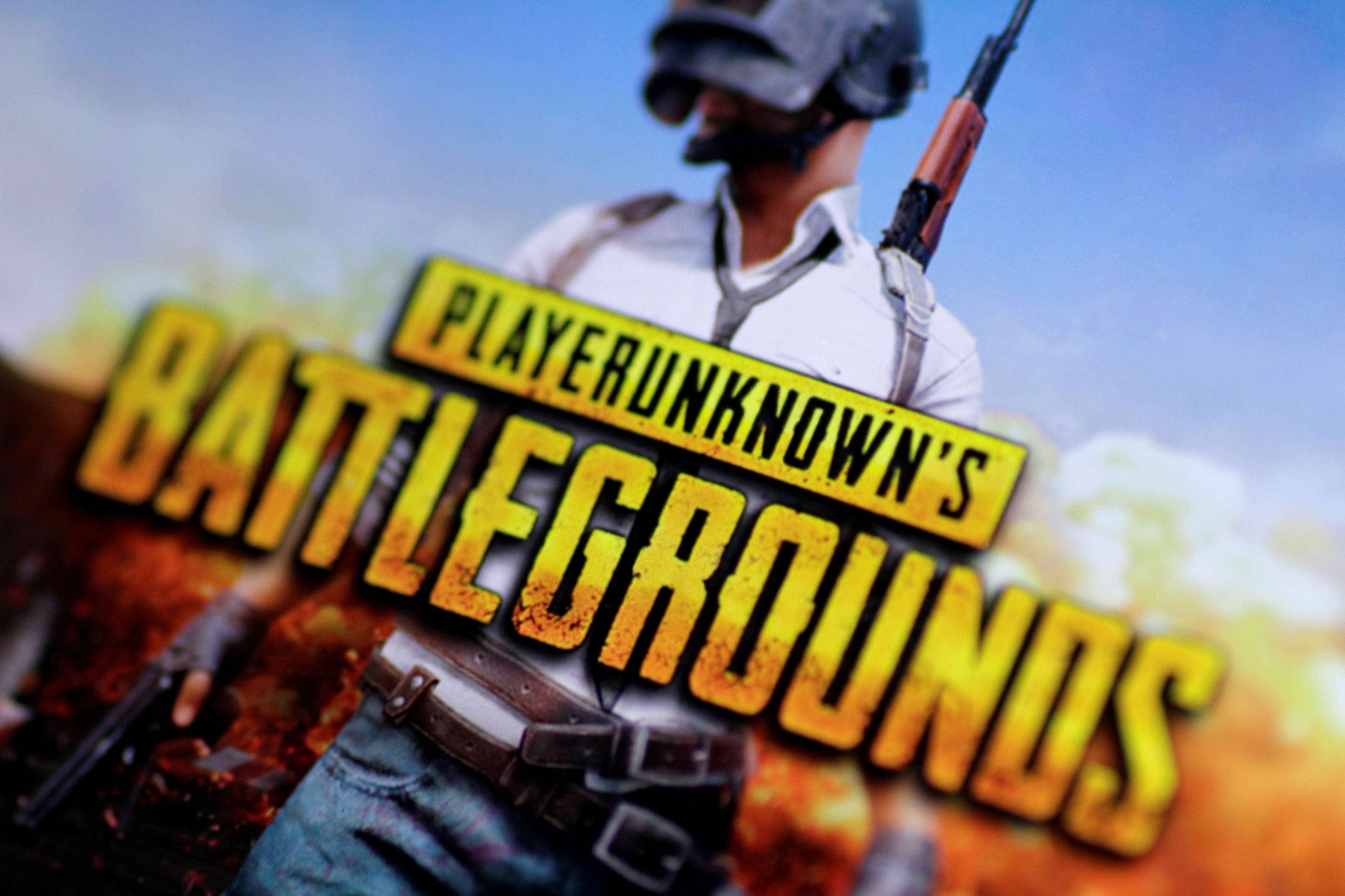 The PlayerUnknown's Battlegrounds video game is seen in this illustration photo November 22, 2017. REUTERS/Thomas White/Illustration