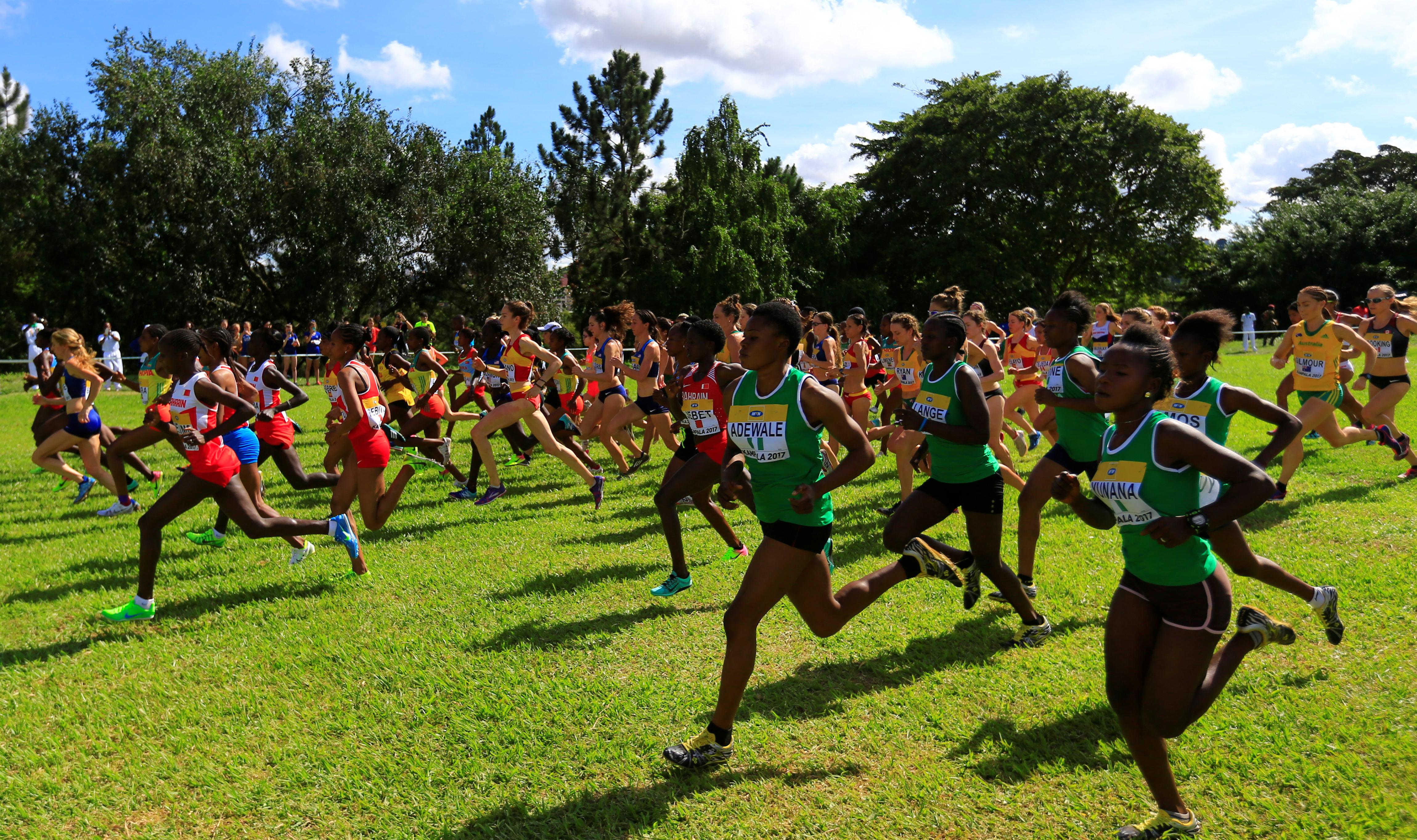 Athletics - IAAF World Cross Country Championships - Senior Race Women - Kololo Independence Grounds, Kampala, Uganda - 26/03/17 - Athletes run in the race. REUTERS/James Akena/File Photo