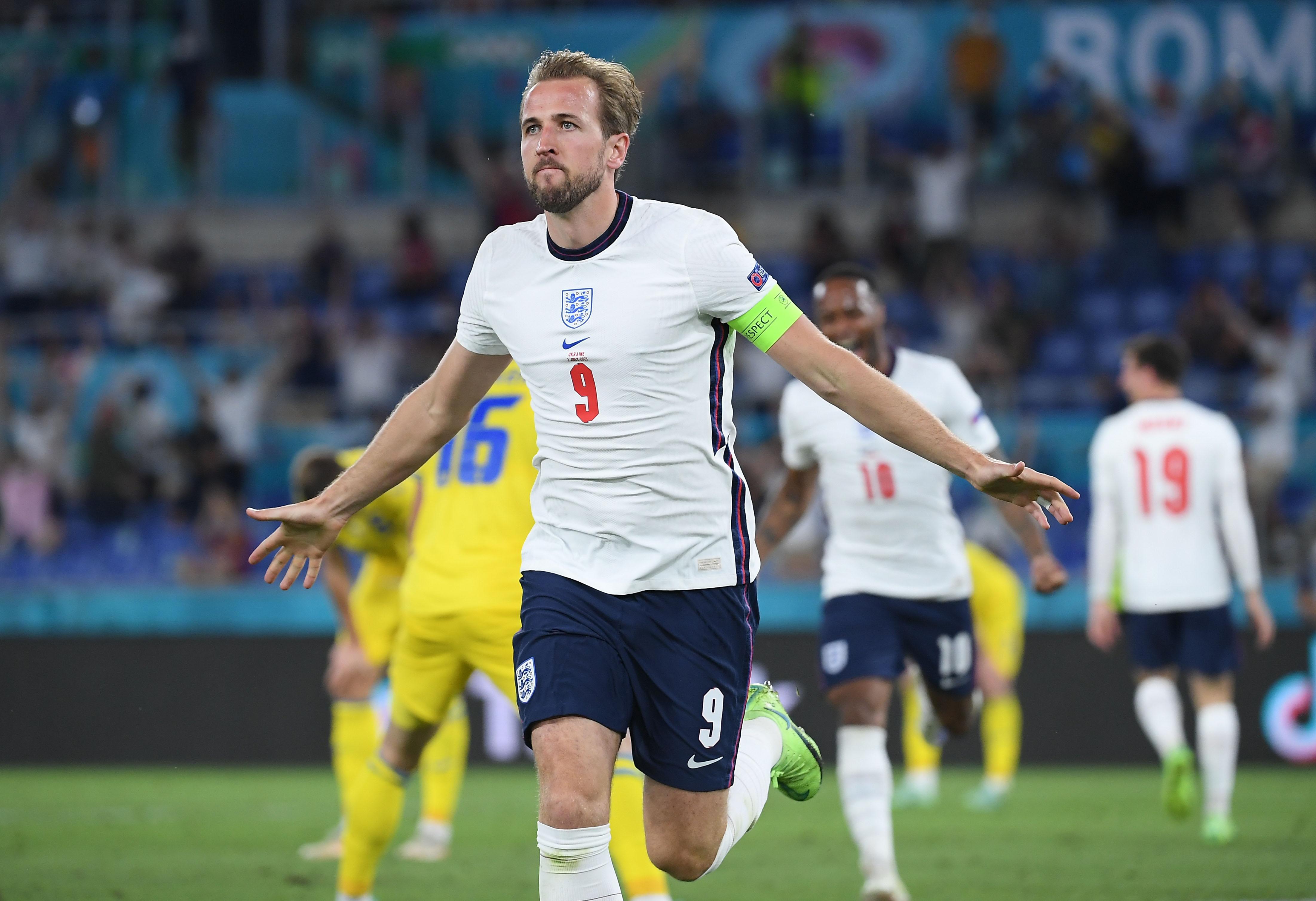 England thrash Ukraine to reach Euro semis as Kane scores twice   Reuters