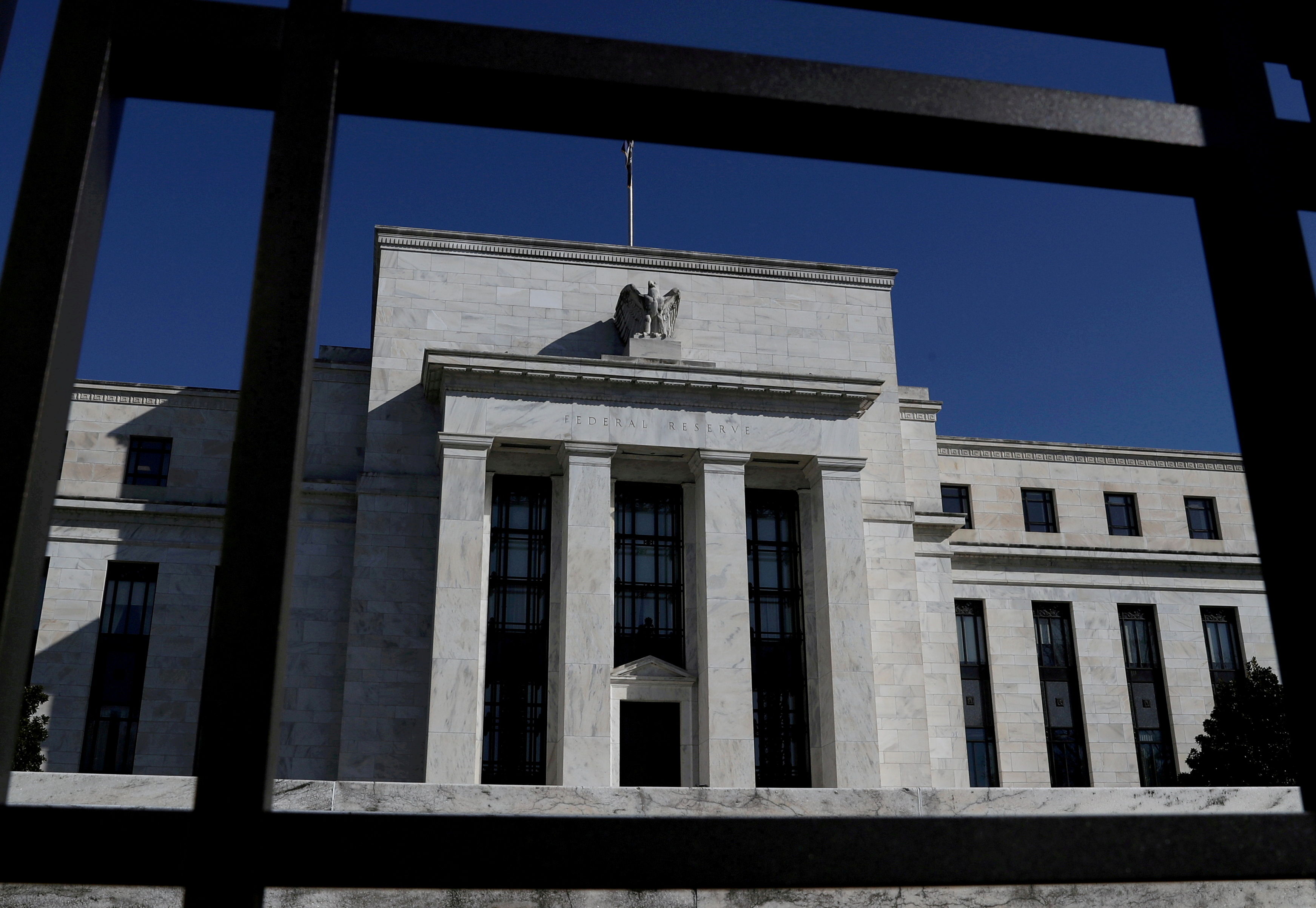 Federal Reserve Board building is pictured in Washington, U.S., March 19, 2019. REUTERS/Leah Millis