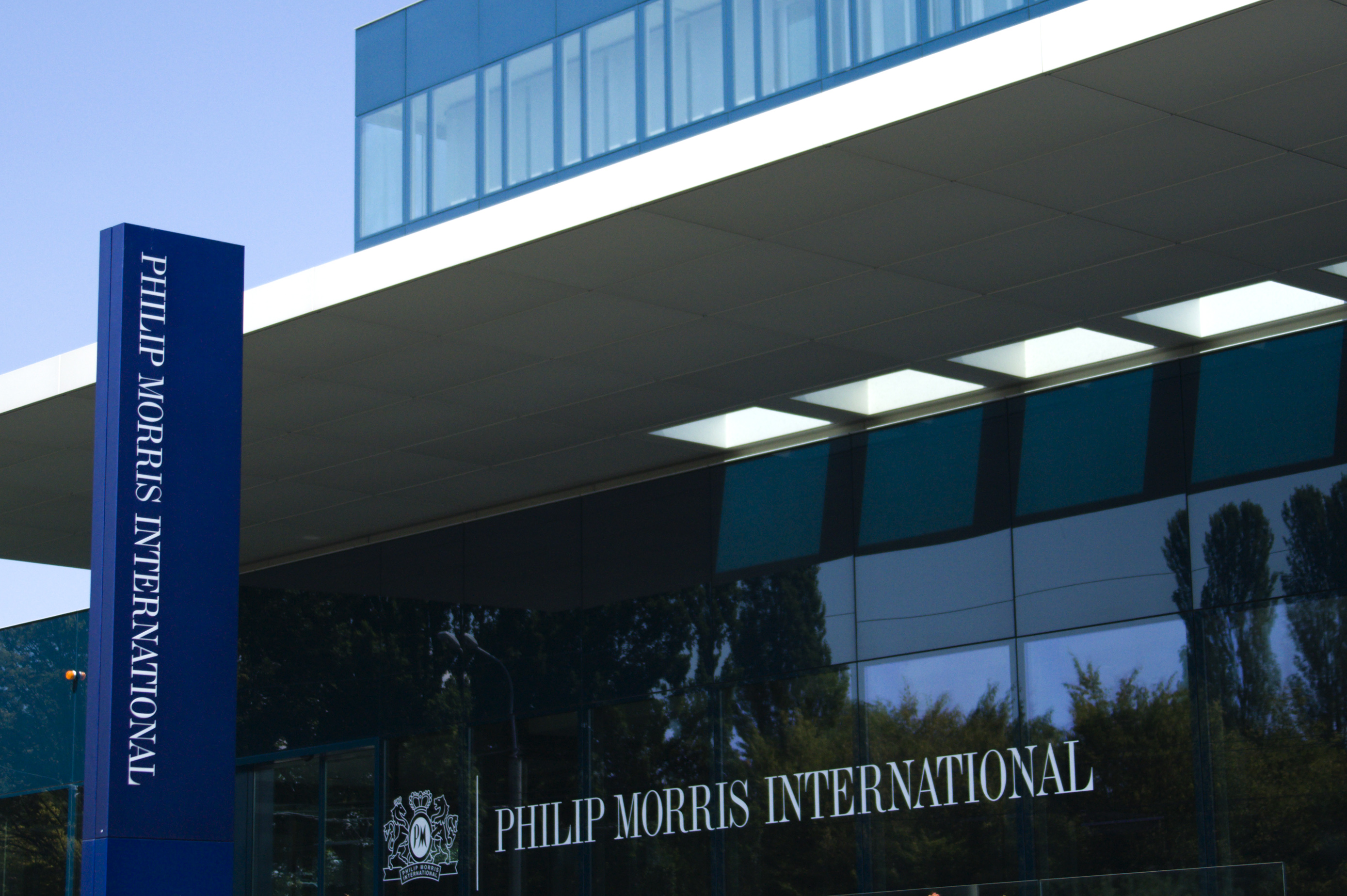 Philip Morris International Operation Center is pictured in Lausanne August 19, 2009. REUTERS/Denis Balibouse/Files