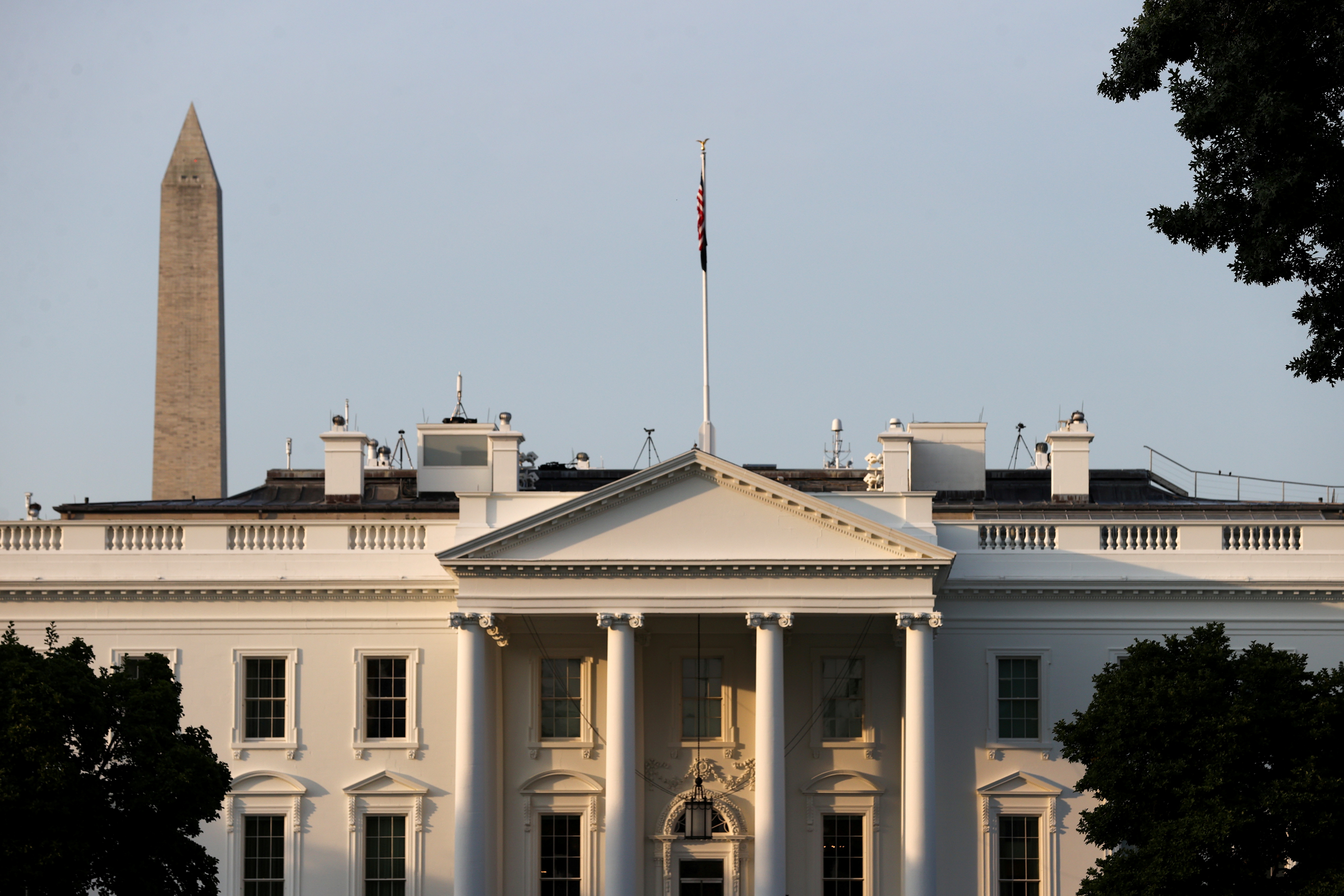 A general view of the White House in Washington, U.S. July 15, 2021. REUTERS/Jonathan Ernst/File Photo