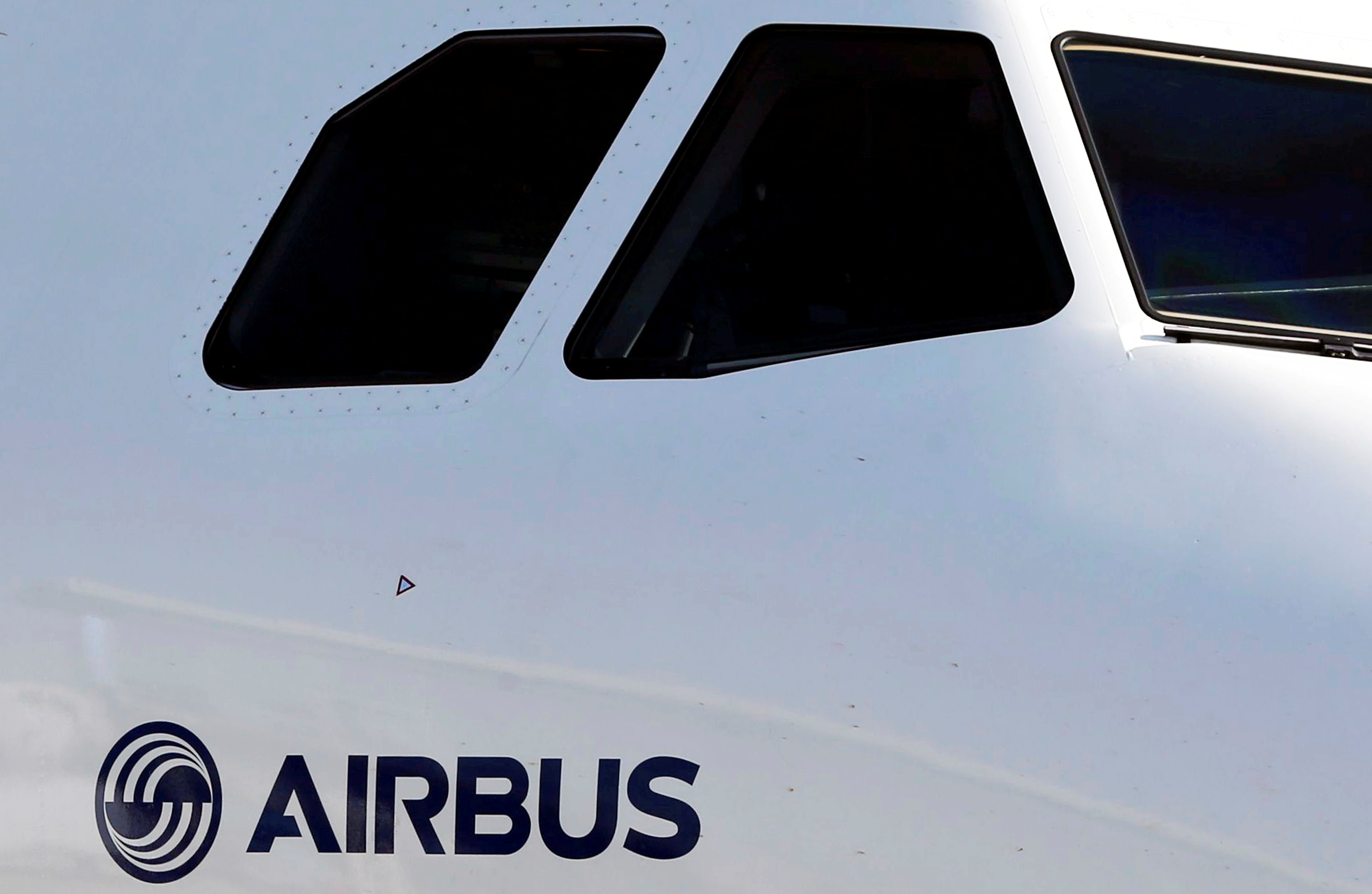 An Airbus A320neo aircraft is pictured during a news conference to announce a partnership between Airbus and Bombardier on the C Series aircraft programme, in Colomiers near Toulouse, France, October 17, 2017.   REUTERS/Regis Duvignau/File Photo