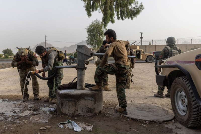 The Taliban's rapid advance across Afghanistan   Reuters