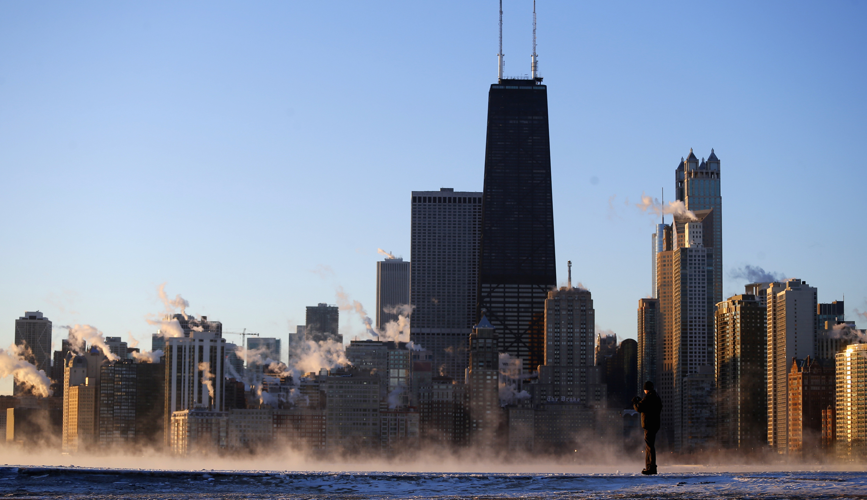Chicago skyline, REUTERS/Jeff Haynes