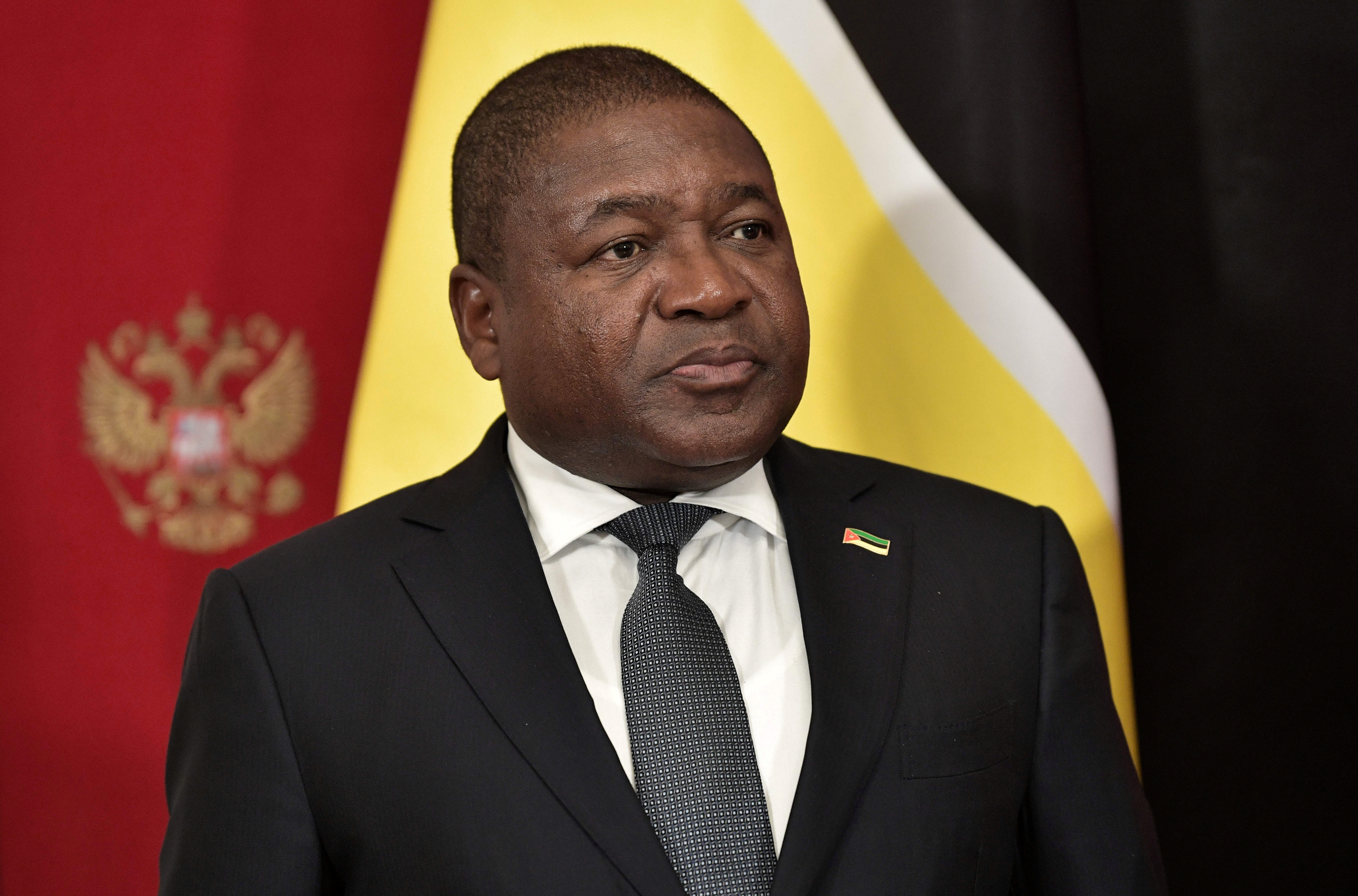 Mozambique's President Filipe Nyusi attends a signing ceremony following the talks with Russia's President Vladimir Putin in Moscow, Russia August 22, 2019. Sputnik/Alexey Nikolsky/Kremlin via REUTERS