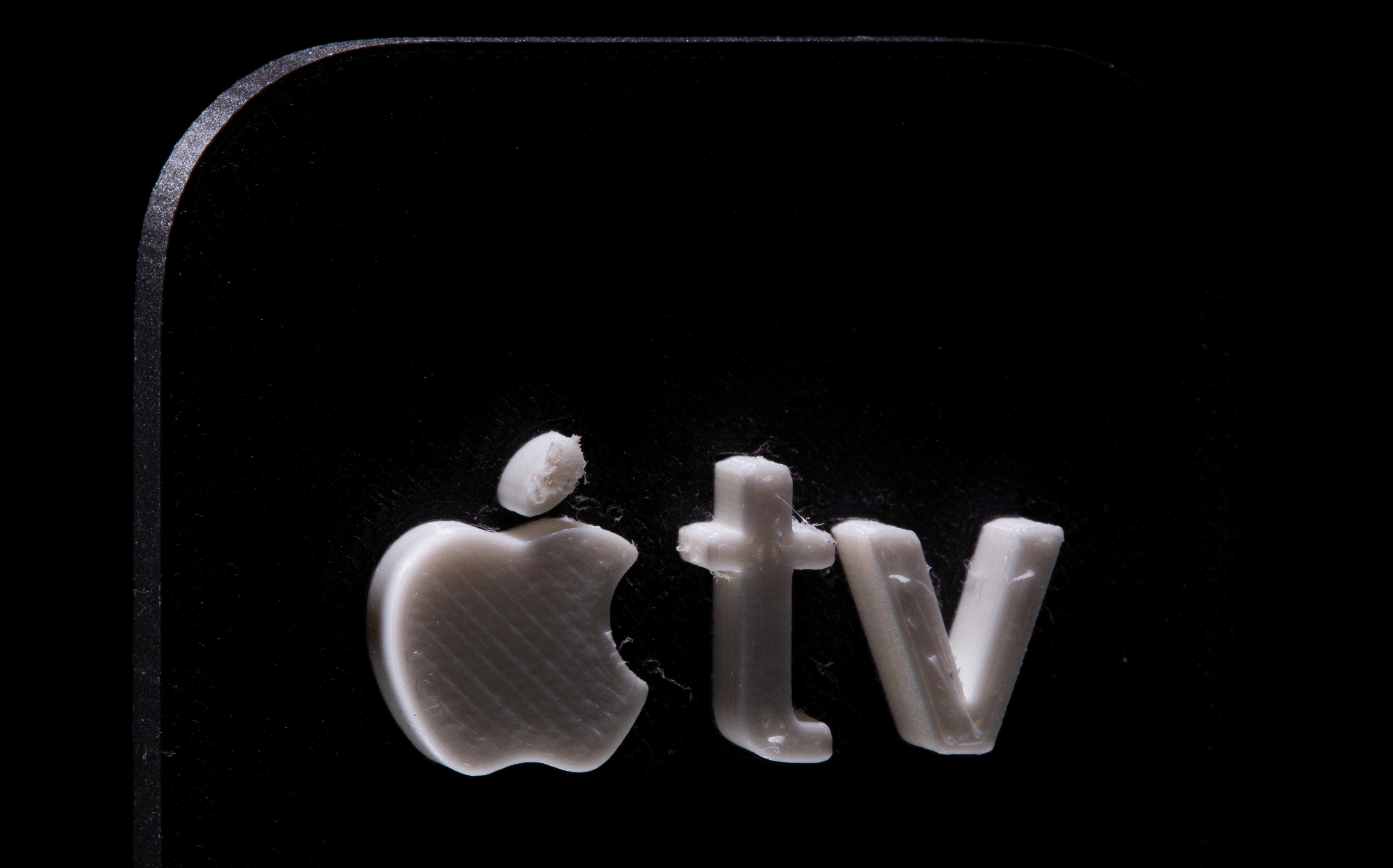 A 3D printed Apple TV logo is seen in this illustration picture taken May 4, 2021. REUTERS/Dado Ruvic/Illustration