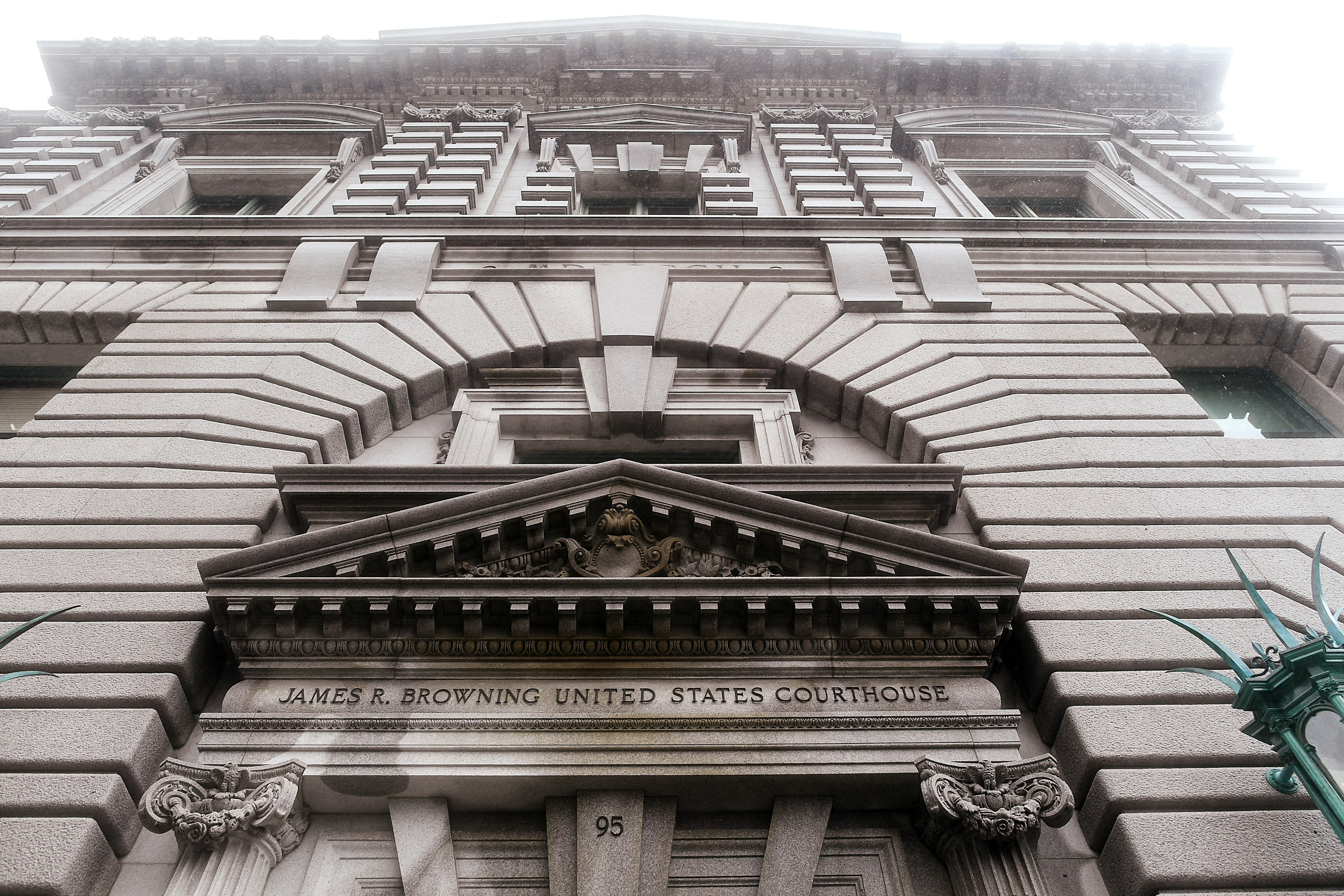 The James R. Browning U.S. Court of Appeals Building, home of the 9th U.S. Circuit Court of Appeals, is pictured in San Francisco, California February 7, 2017. REUTERS/Noah Berger