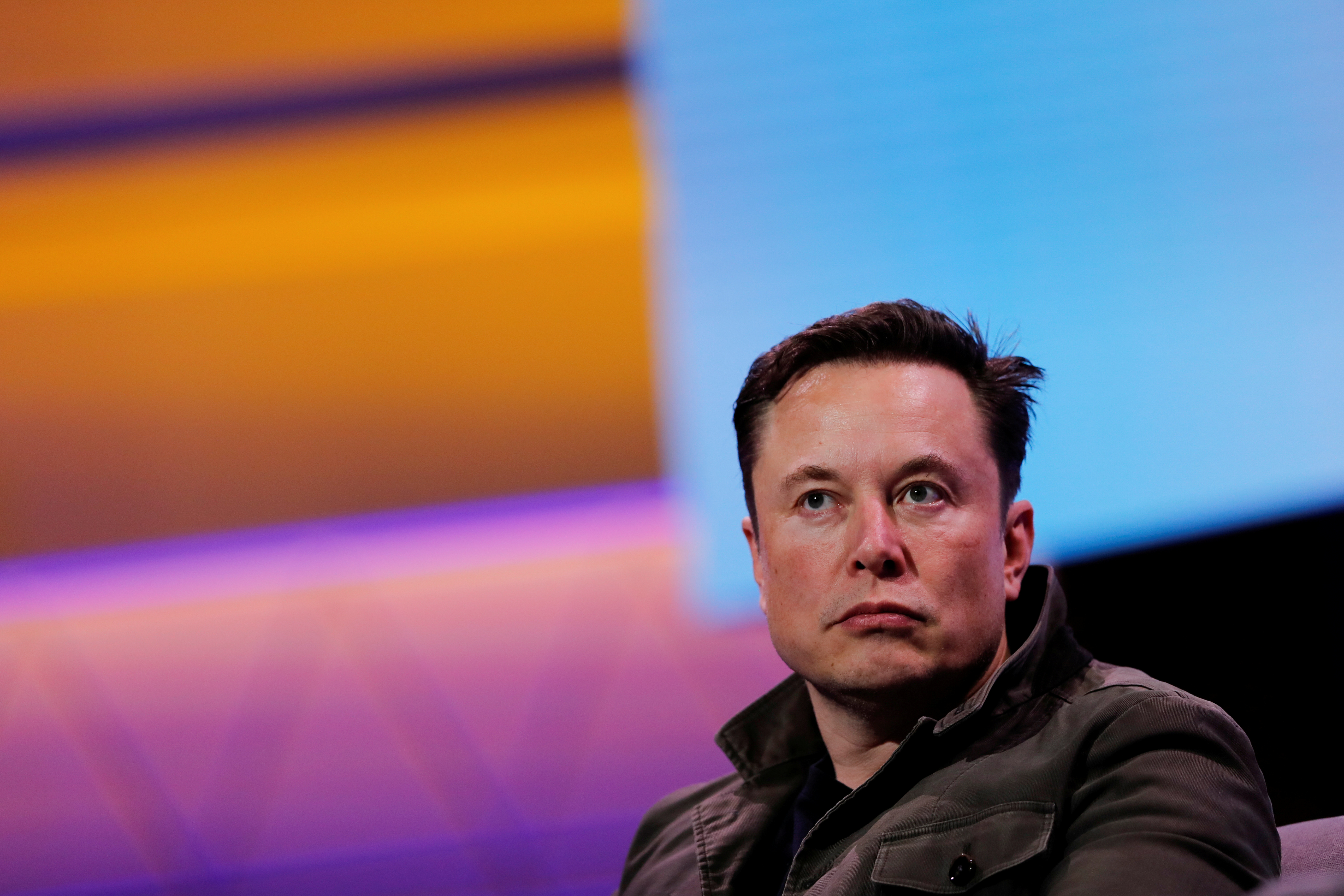 SpaceX owner and Tesla CEO Elon Musk speaks during a conversation at the E3 gaming convention in Los Angeles, California, U.S., June 13, 2019.  REUTERS/Mike Blake