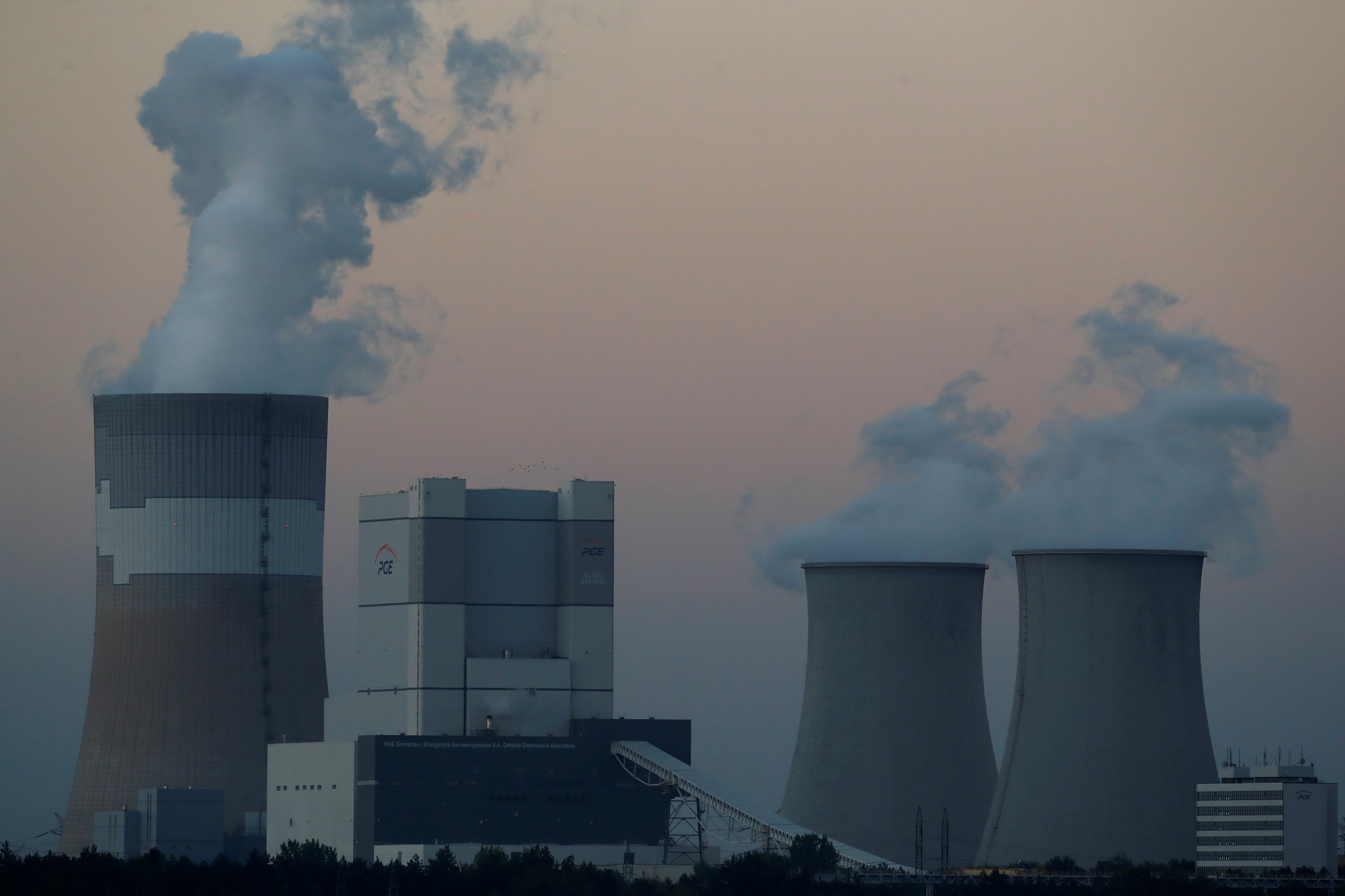 Belchatow Power Station, Europe's largest coal-fired power plant operated by PGE Group, is pictured near Belchatow, September 12, 2018. REUTERS/Kacper Pempel