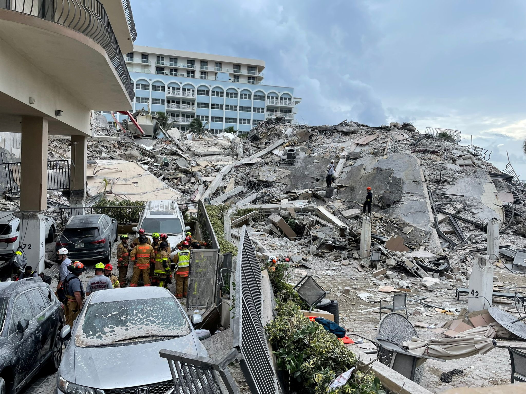 Task Forces from Mexico and Israel Join Search for Survivors After Surfside Condo Collapse