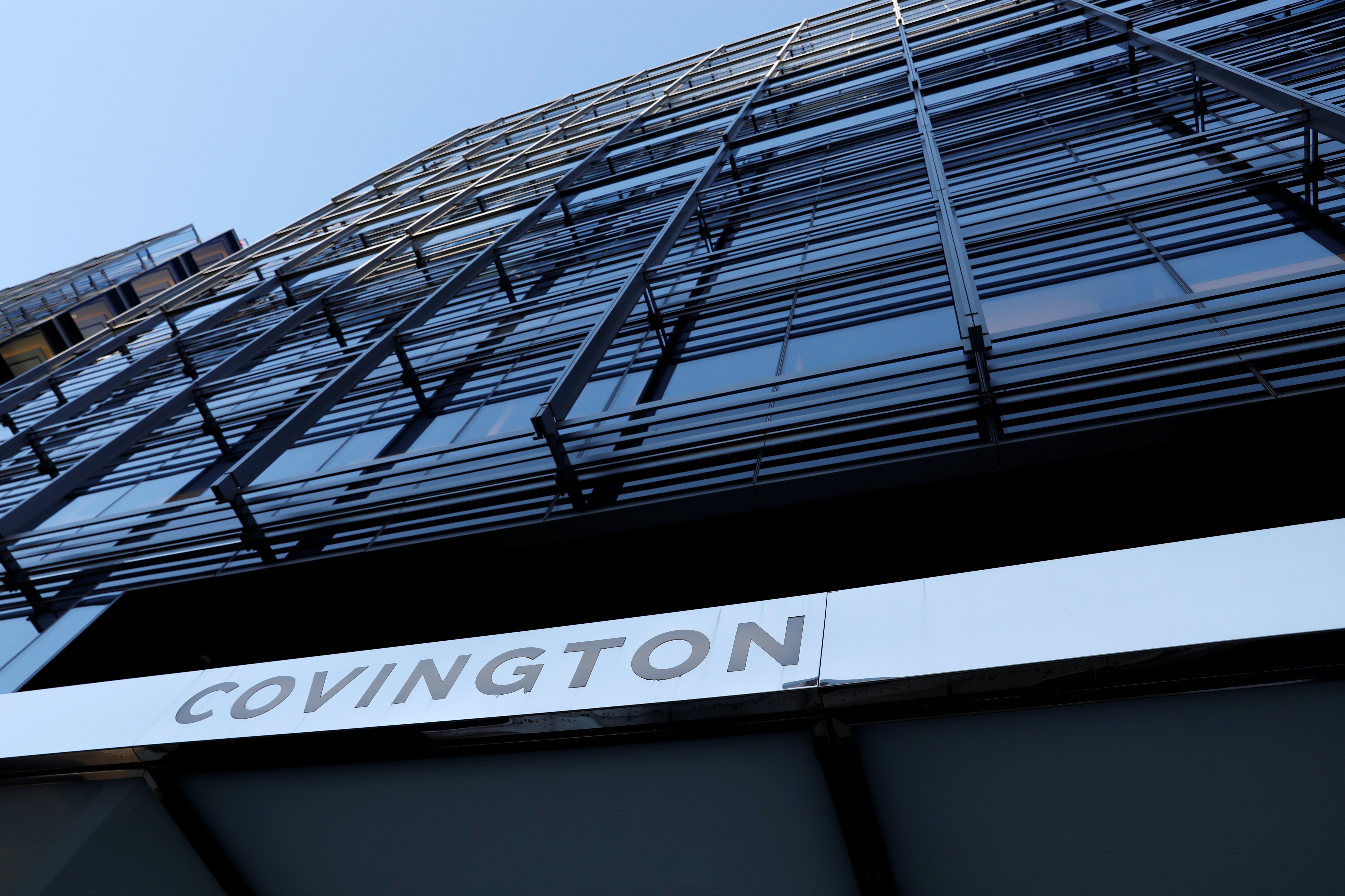 Covington & Burling offices in Washington, D.C. REUTERS/Andrew Kelly
