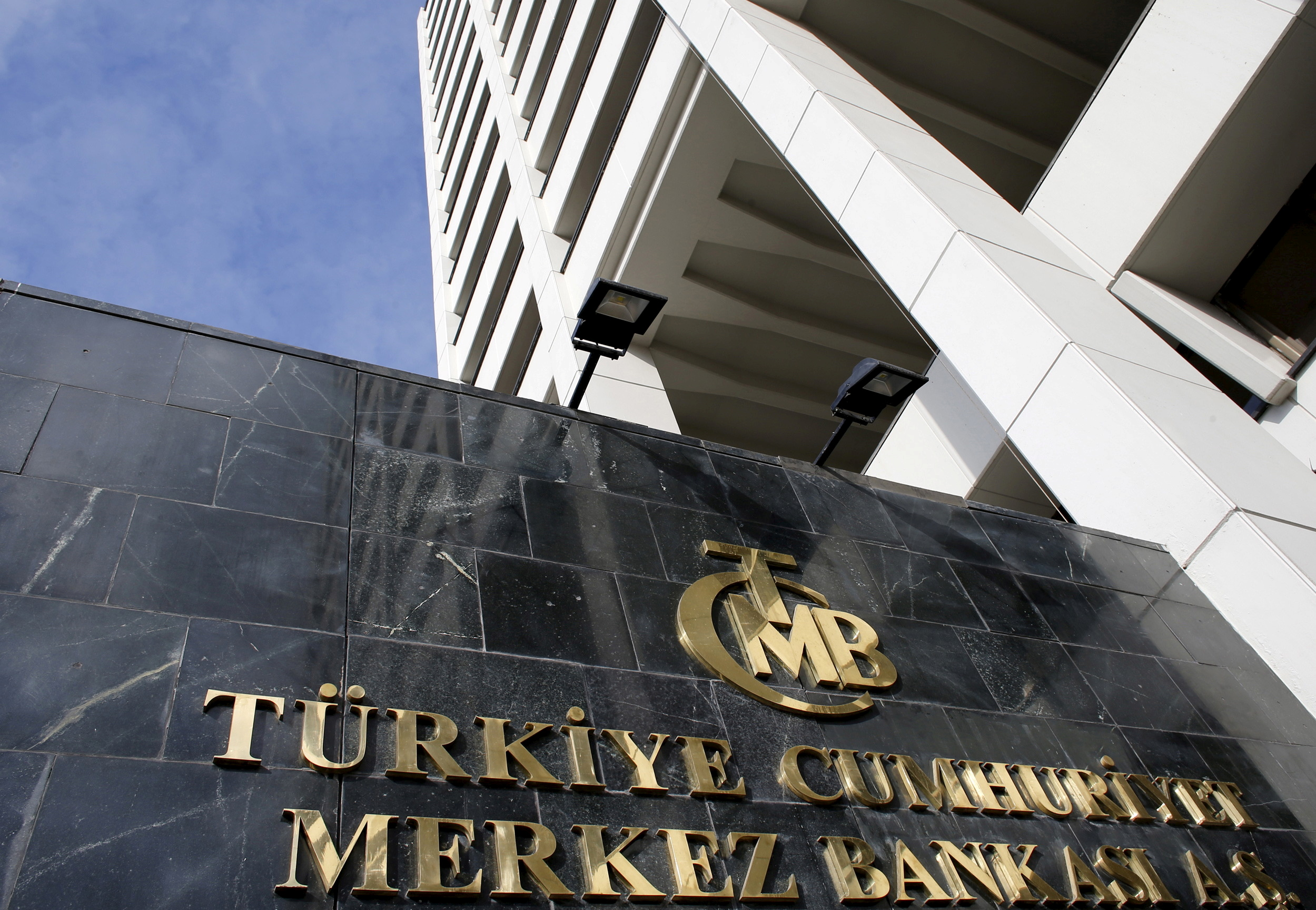 Turkey's Central Bank headquarters is seen in Ankara, Turkey in this January 24, 2014 file photo. REUTERS/Umit Bektas