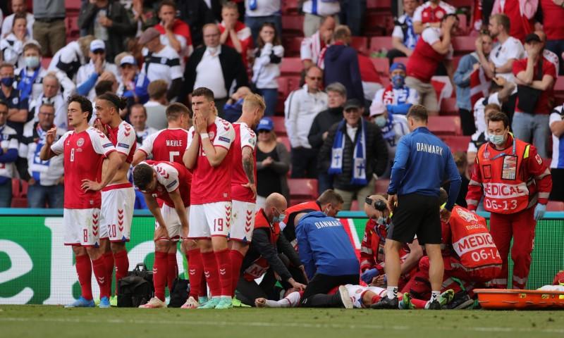 Denmark's Christian Eriksen Suffered Cardiac Arrest On Field During Match Against Finland, in Stabl