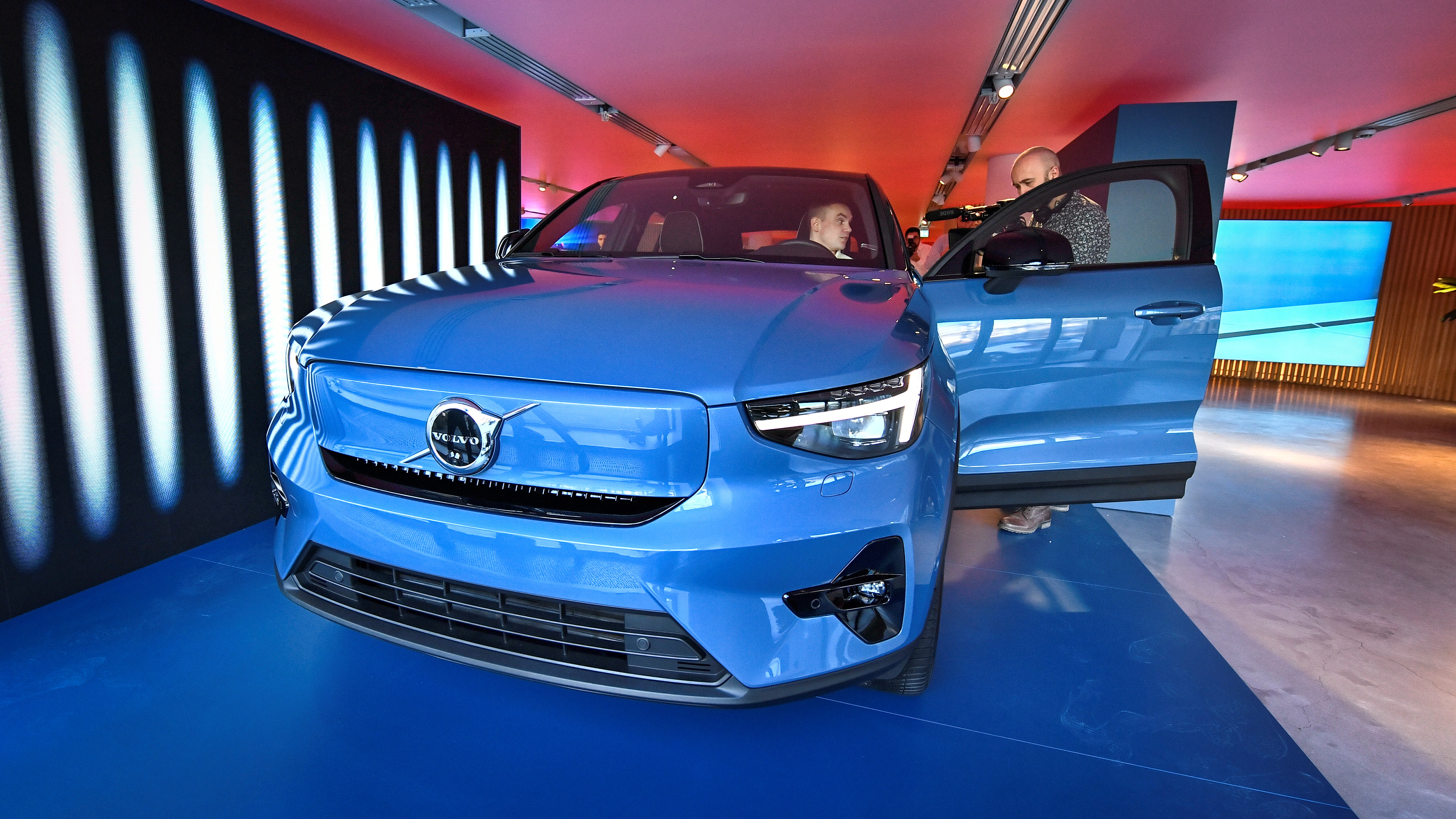 Volvo's new electric car Volvo C40 Recharge is presented in Stockholm, Sweden March 2, 2021. Claudio Breciani/TT News Agency/via REUTERS/File Photo