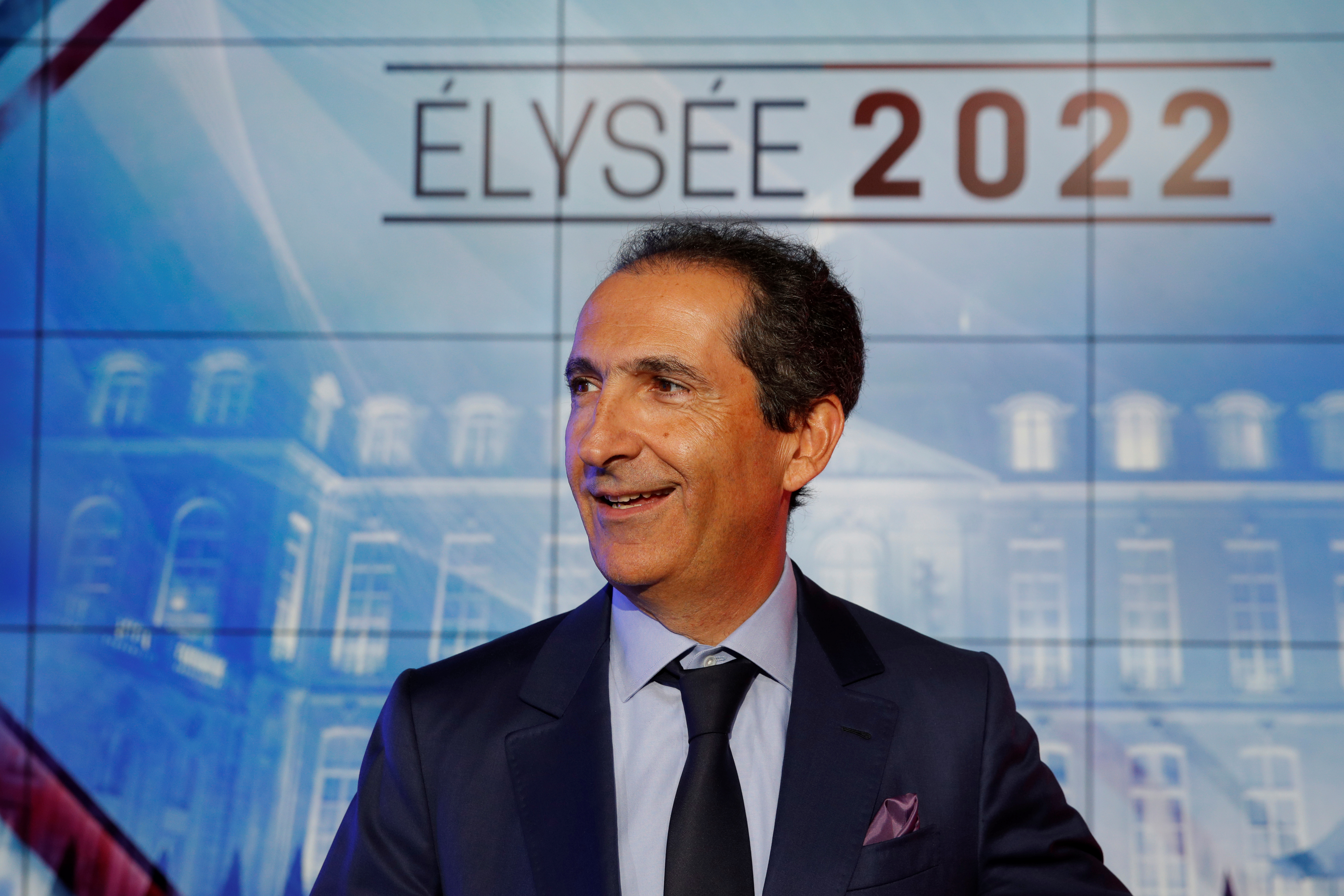 Patrick Drahi, Franco-Israeli businessman and founder of cable and mobile telecoms company Altice Group attends the inauguration of the Altice Campus in Paris, France, October 9, 2018.