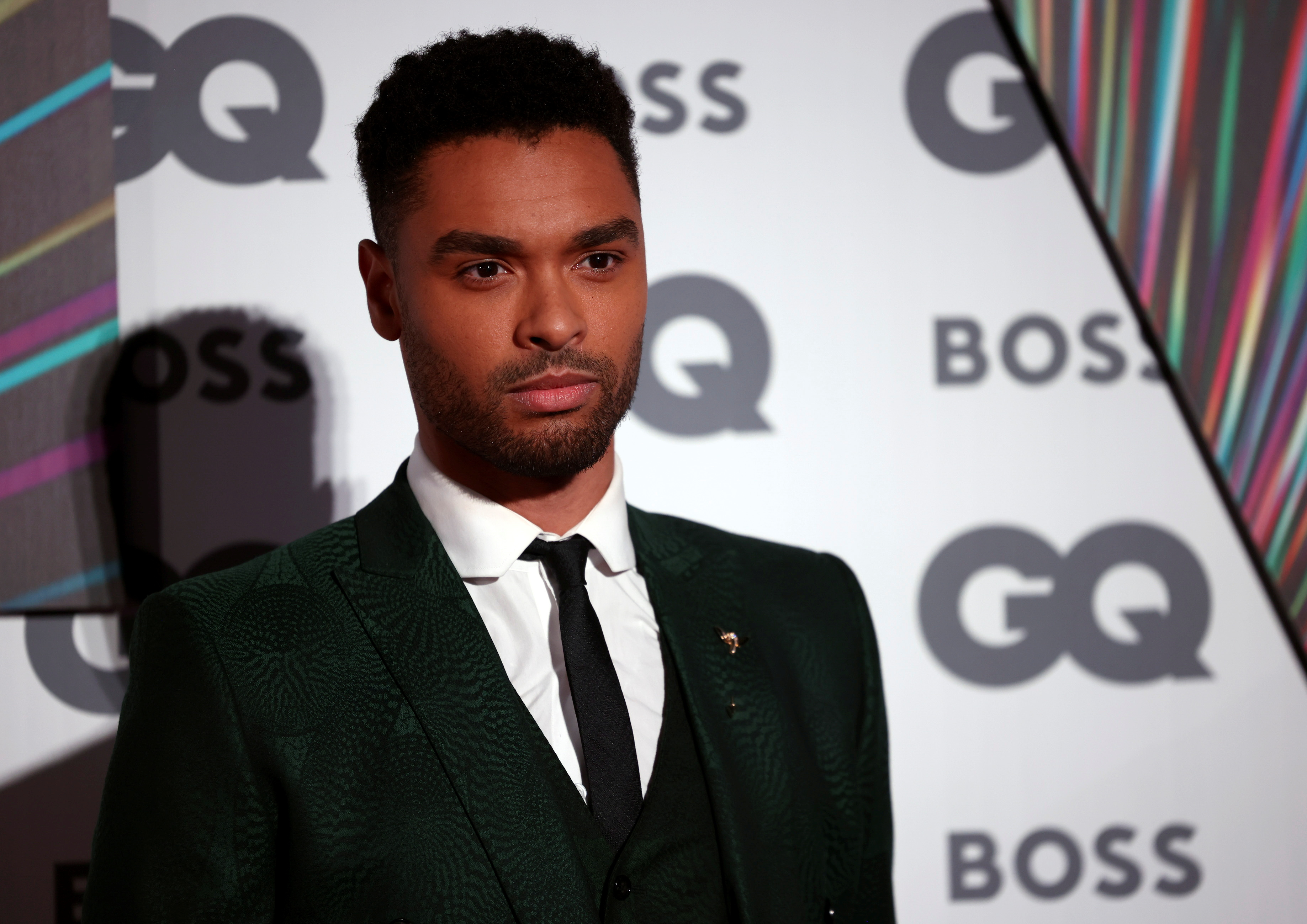 Actor Rege-Jean Page arrives to the GQ Men Of The Year Awards 2021 in London, Britain September 1, 2021. REUTERS/Henry Nicholls