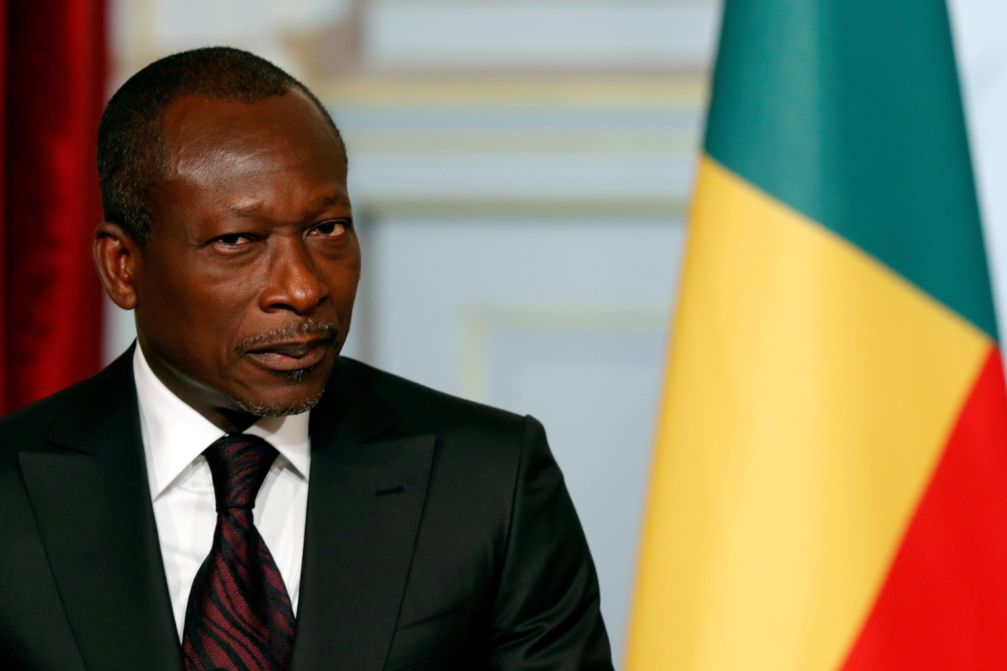 Benin's President Patrice Talon. REUTERS/Philippe Wojazer