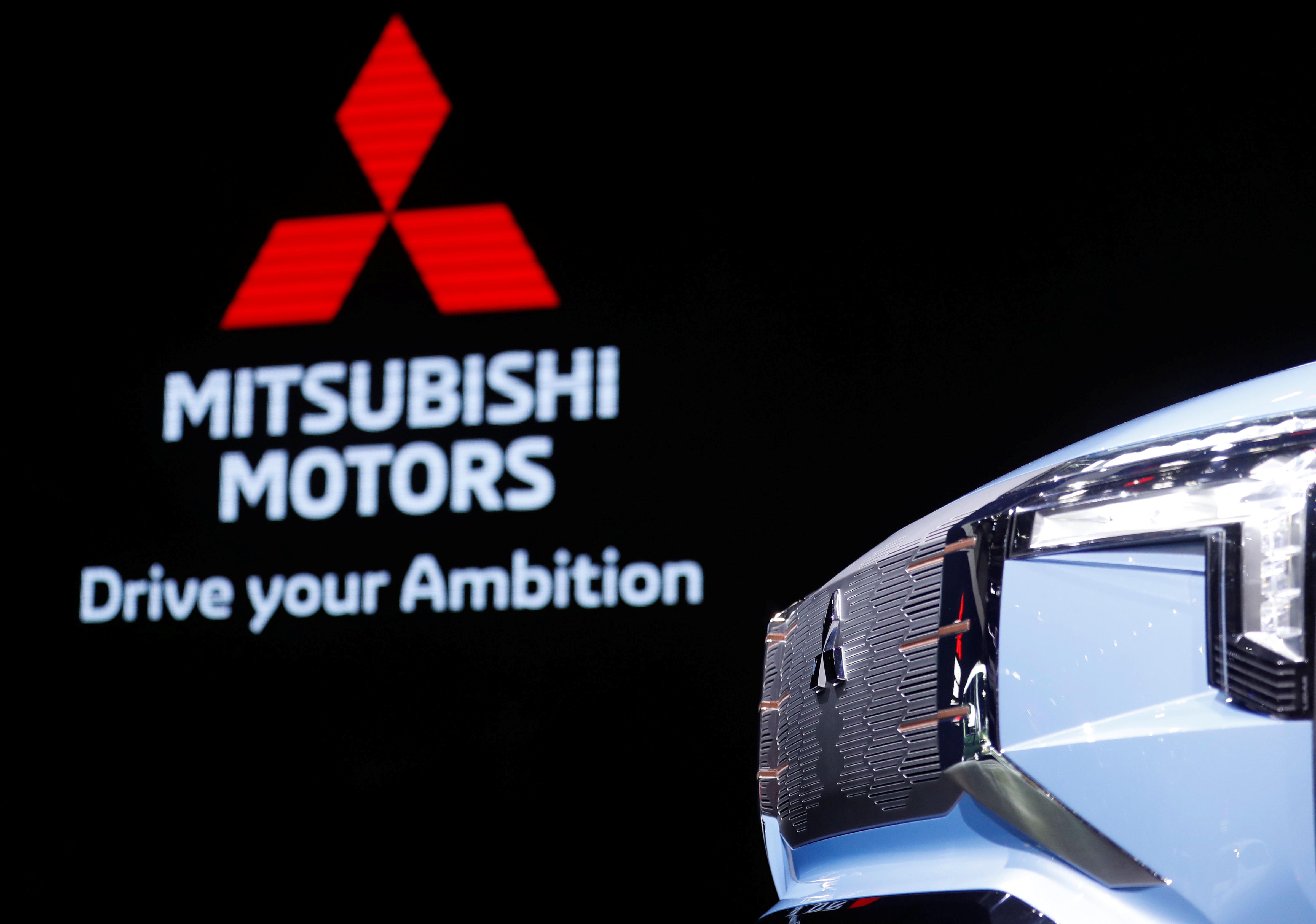 Mitsubishi Mi-Tech concept car is seen in Tokyo Motor Show in Tokyo, Japan October 24, 2019. REUTERS/Soe Zeya Tun