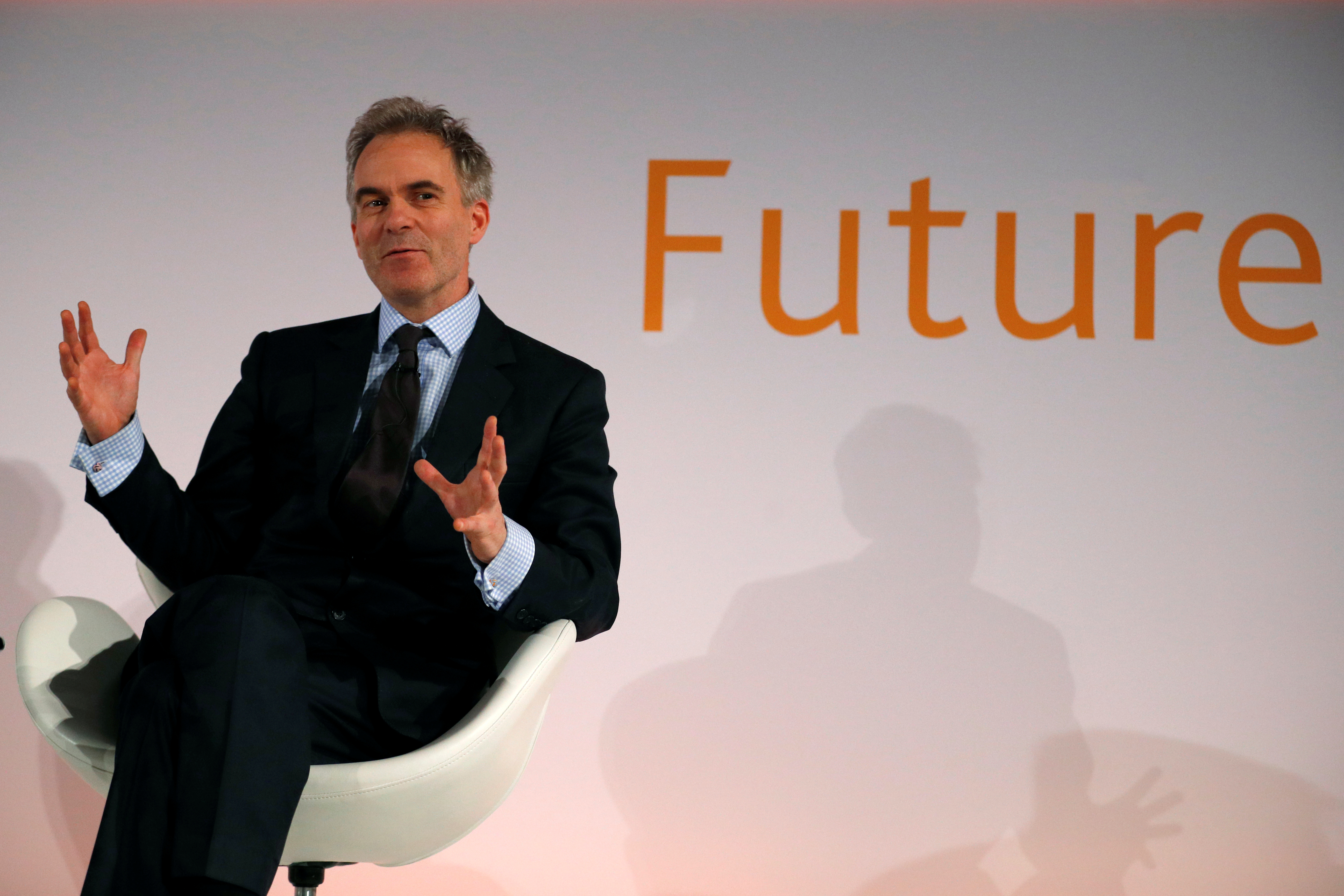 Bank of England Deputy Governor Ben Broadbent speaks at the 'Future Forum 2017' event in St George's Hall, Liverpool, Britain November 16, 2017.  REUTERS/Phil Noble/File photo