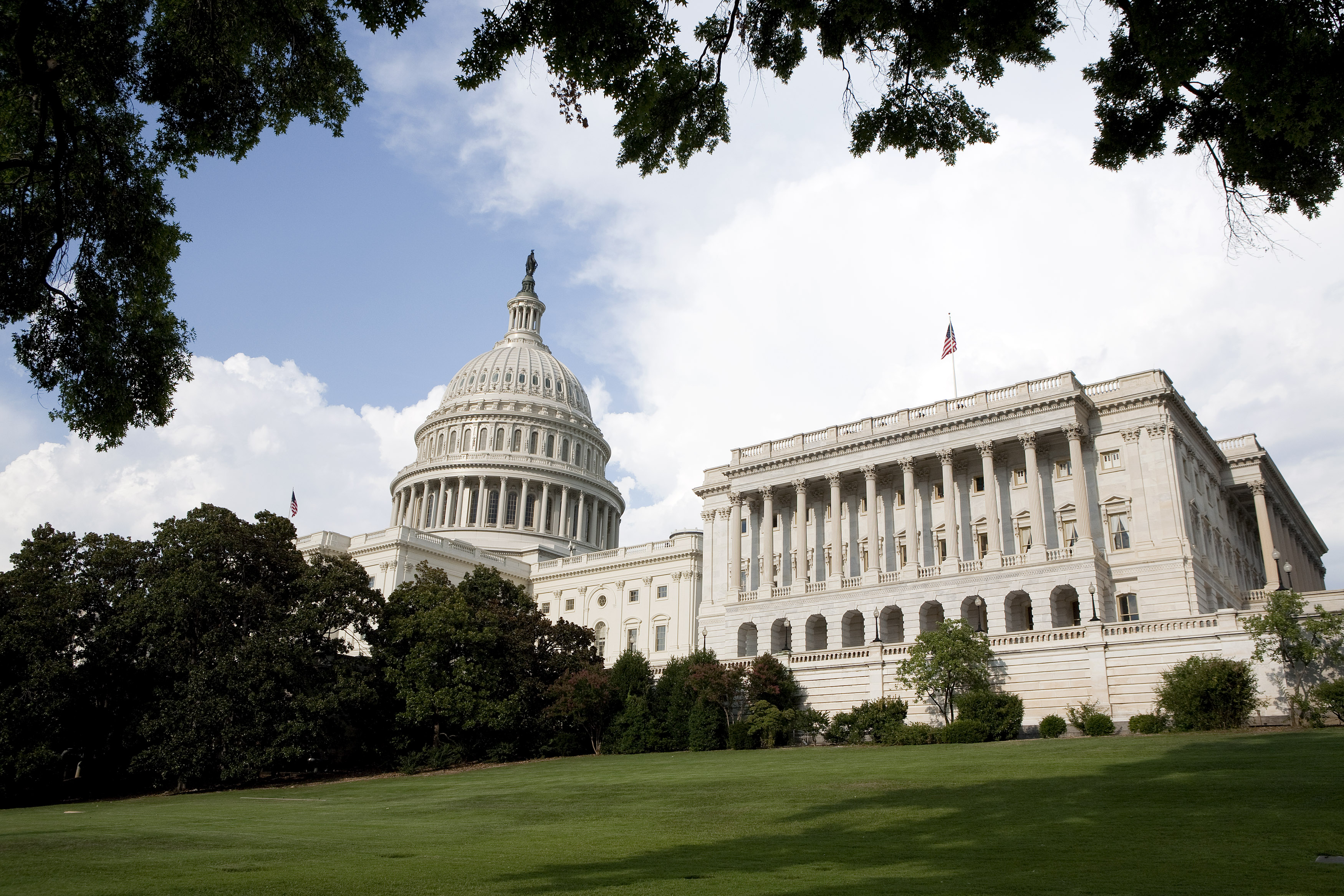 A view of Capitol Hill in Washington August 1, 2011. REUTERS/Joshua Roberts