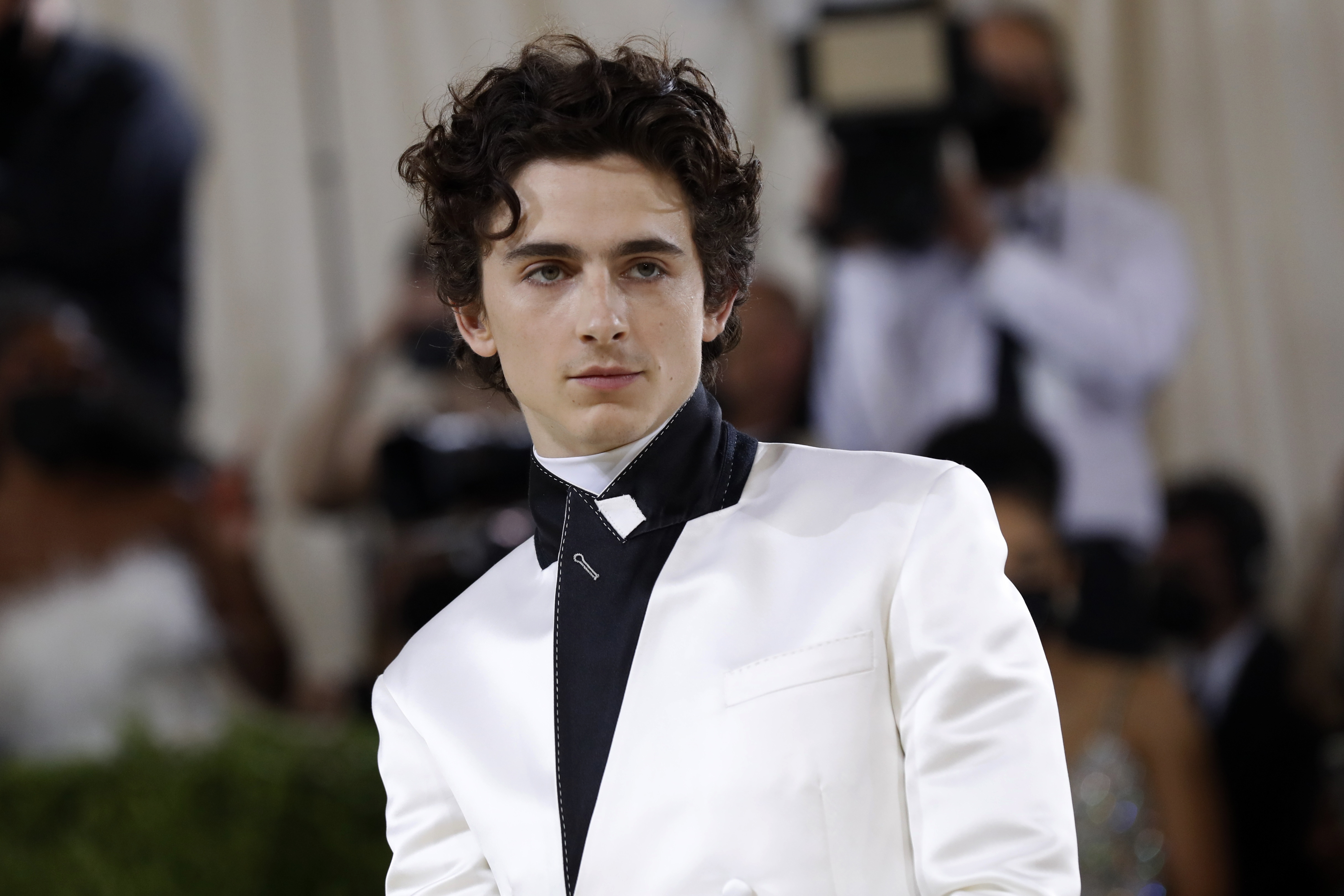 Metropolitan Museum of Art Costume Institute Gala - Met Gala - In America: A Lexicon of Fashion - Arrivals - New York City, U.S. - September 13, 2021. Timothee Chalamet. REUTERS/Mario Anzuoni