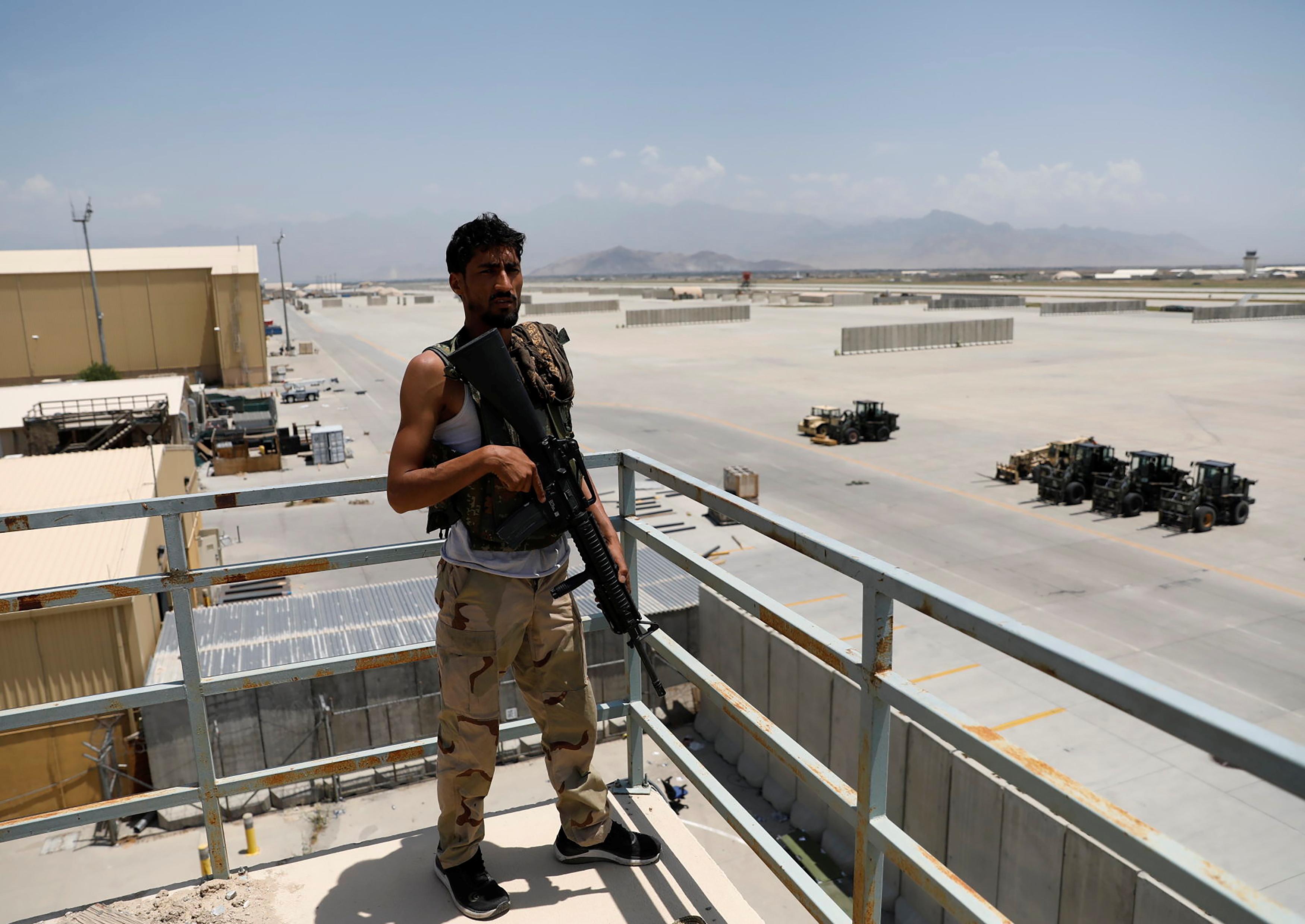 Vacated by Americans, Kabul's Bagram Air Base bustles again as Afghans move  in   Reuters