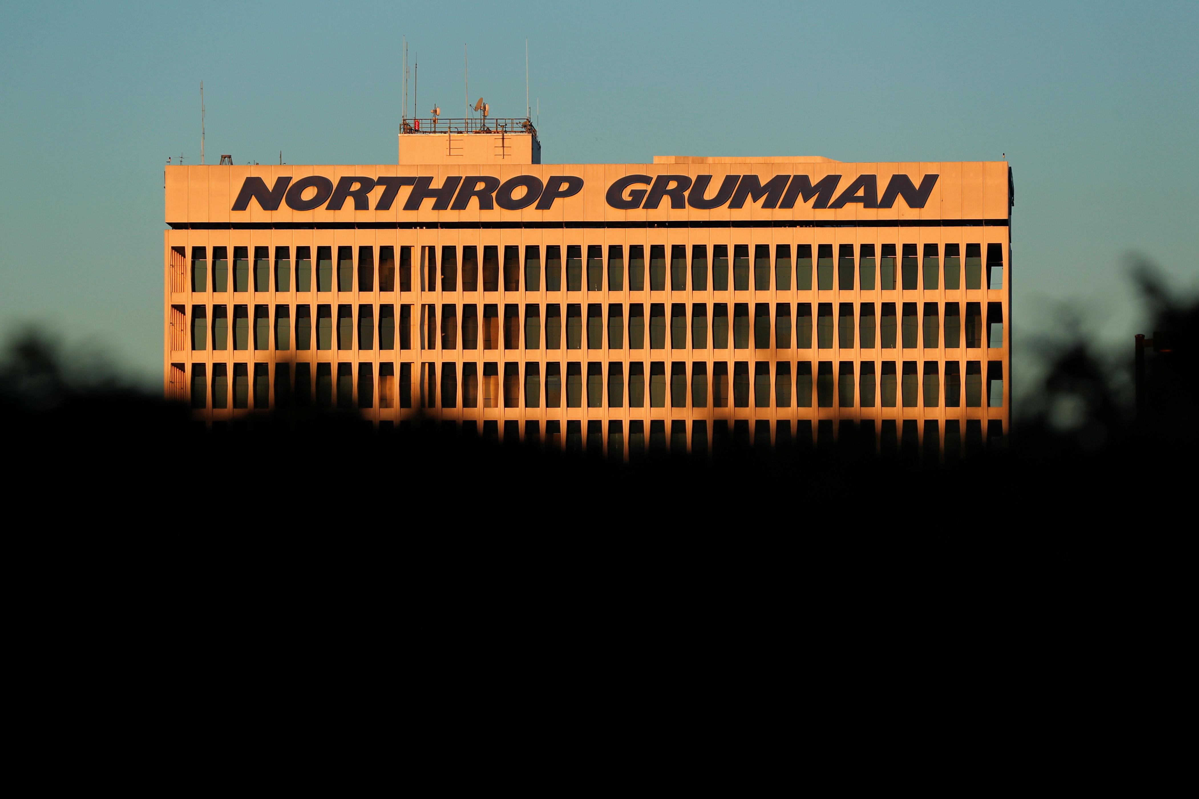 A Northrop Grumman building is shown in El Segundo, California, U.S., February 7, 2019.    REUTERS/Mike Blake