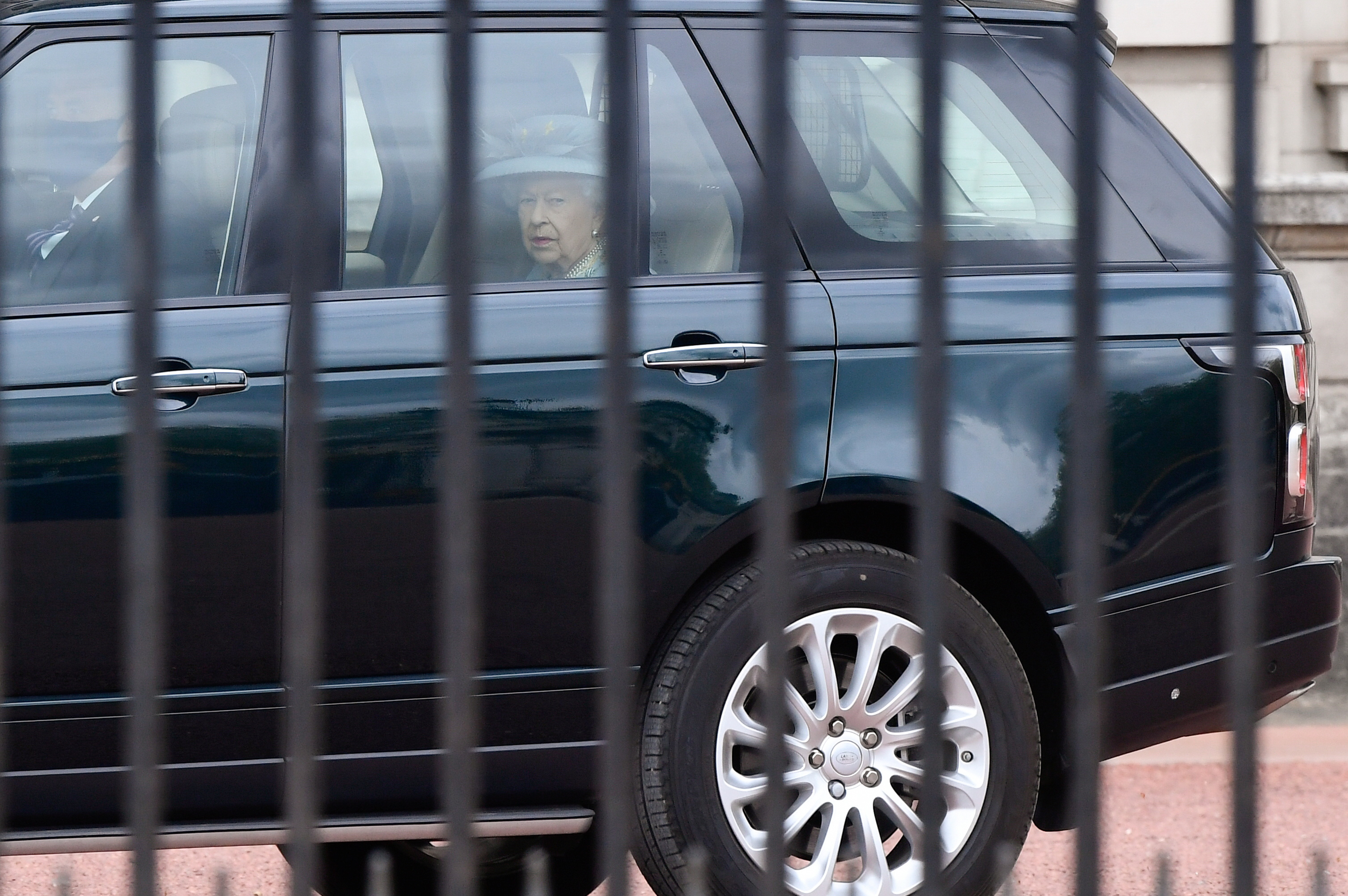 Britain's Queen Elizabeth leaves Buckingham Palace for the State Opening of Parliament at the Palace of Westminster, where a scaled-back ceremony will take place amid the coronavirus disease (COVID-19) restrictions, in London, Britain, May 11, 2021. REUTERS/Toby Melville