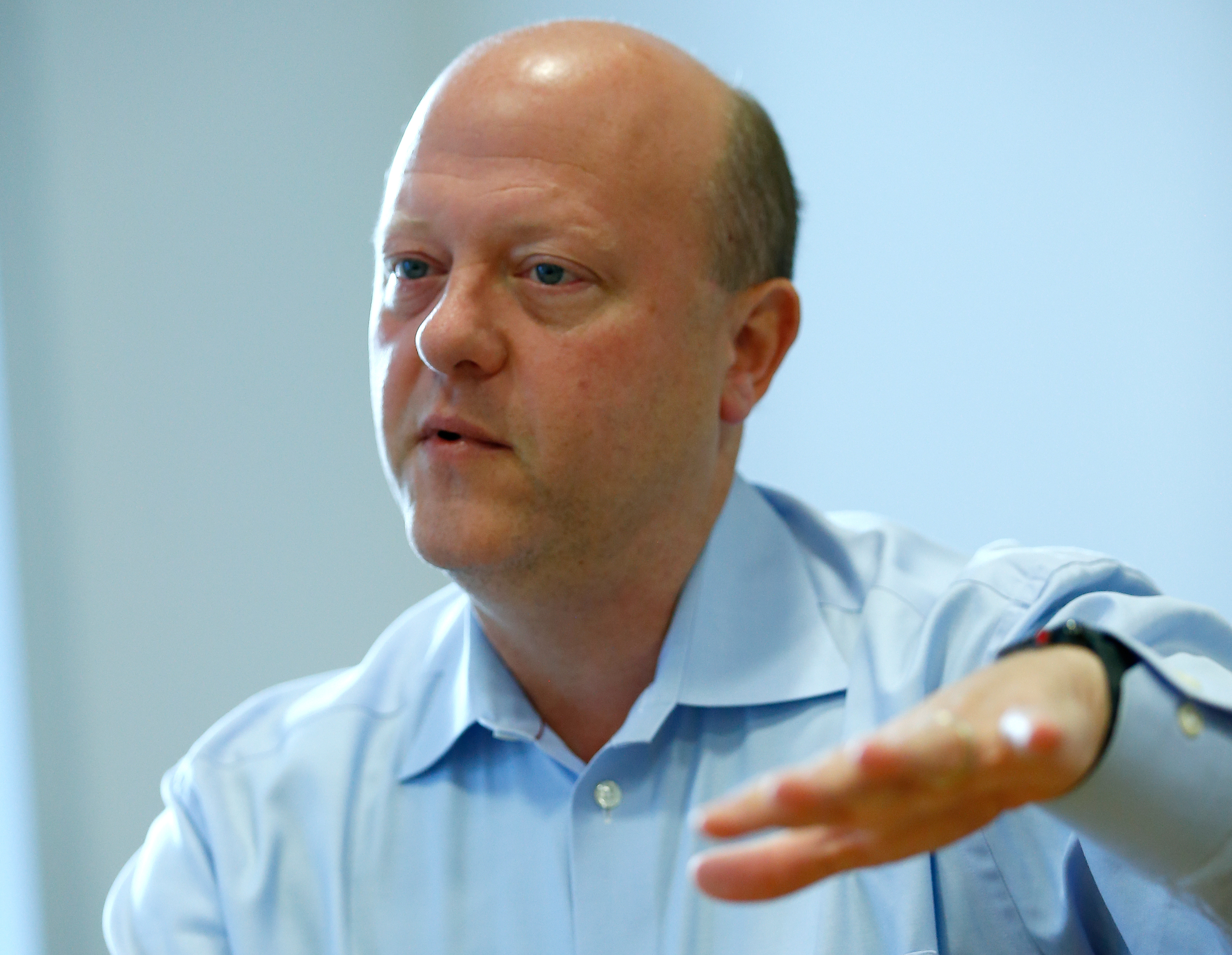 File photo: Jeremy Allaire, the Chief Executive Officer of cryptocurrency start-up Circle. REUTERS/Andrew Winning