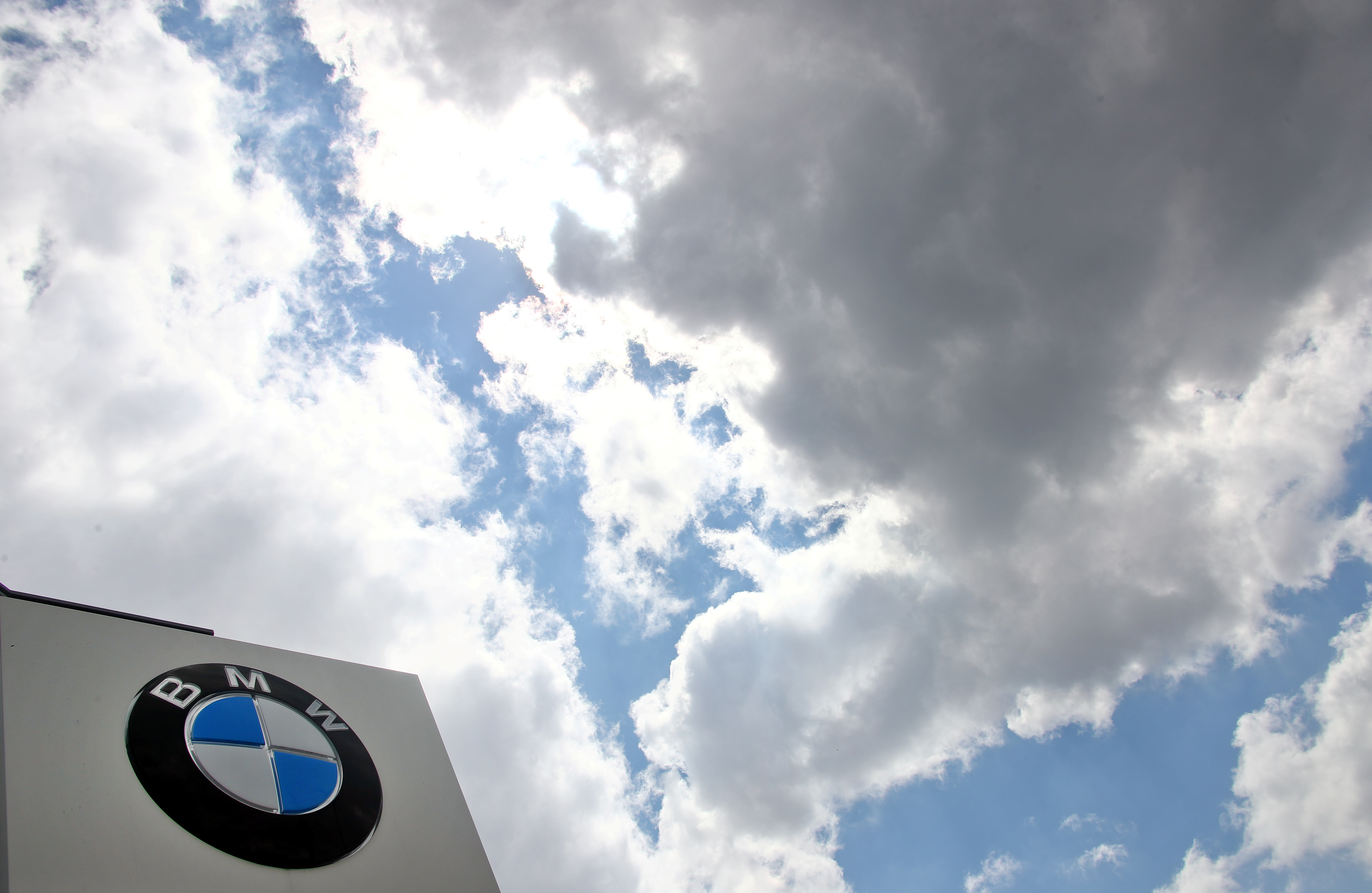 The headquarters of German luxury carmaker BMW is seen in Munich, Germany, August 5, 2020. REUTERS/Michael Dalder/File Photo