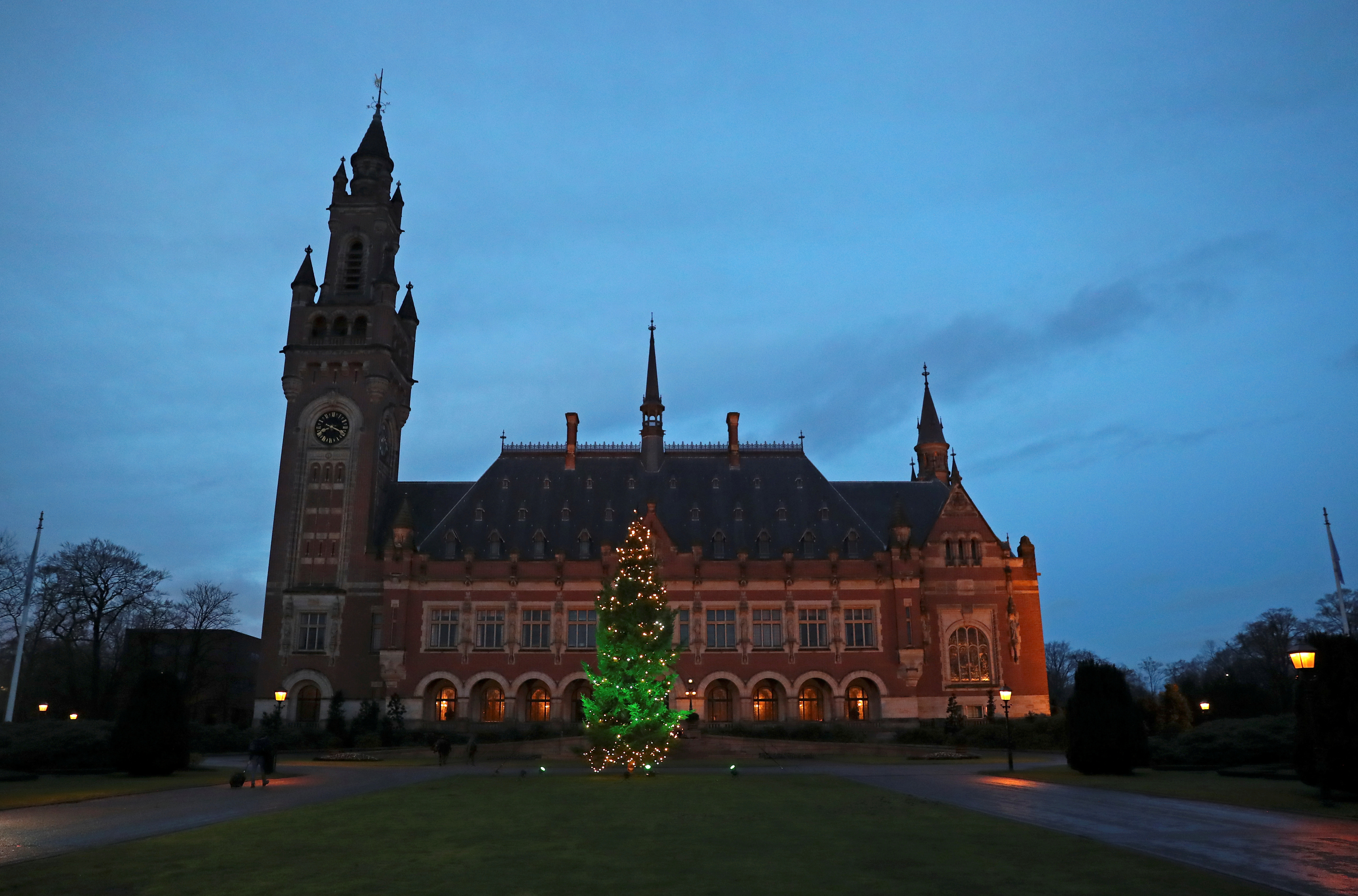 General view of the International Court of Justice (ICJ) in The Hague, Netherlands December 11, 2019. REUTERS/Yves Herman/Files/File Photo