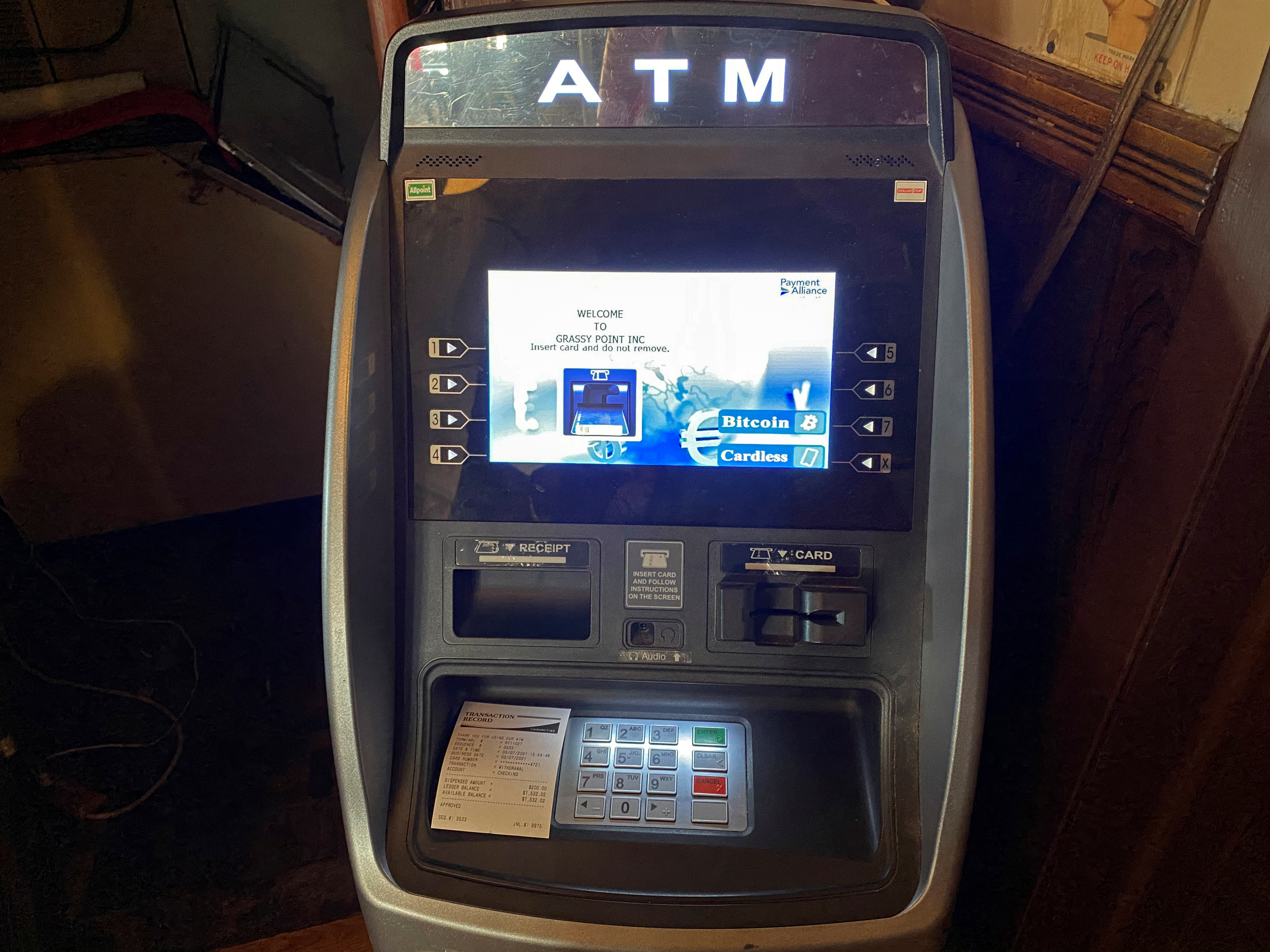 Bitcoin Atms Are Coming To A Gas Station Near You Reuters
