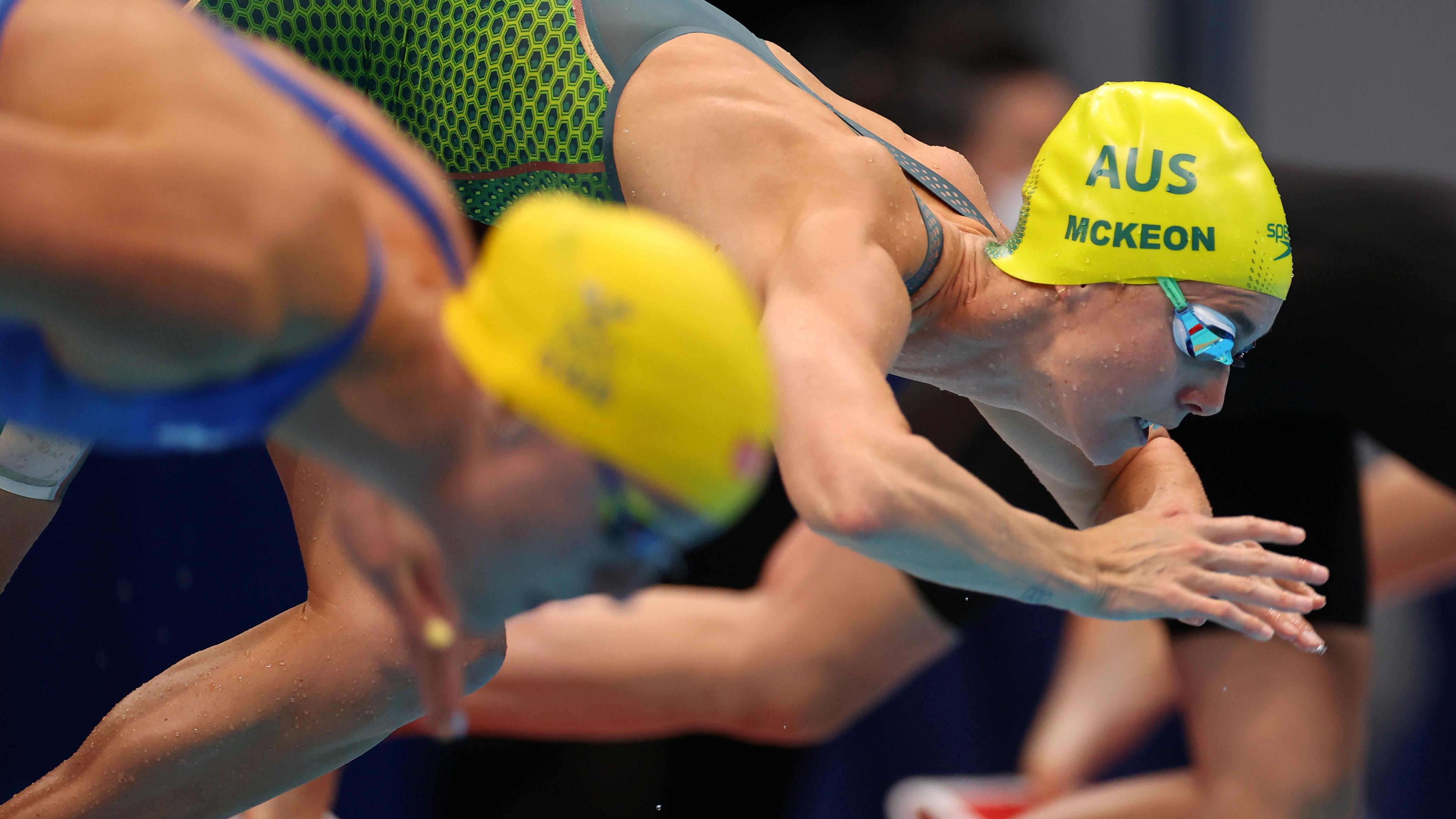 Tokyo 2020 Olympics - Swimming - Women's 100m Freestyle - Semifinal 2 - Tokyo Aquatics Centre - Tokyo, Japan - July 29, 2021. Emma McKeon of Australia in action. REUTERS/Marko Djurica