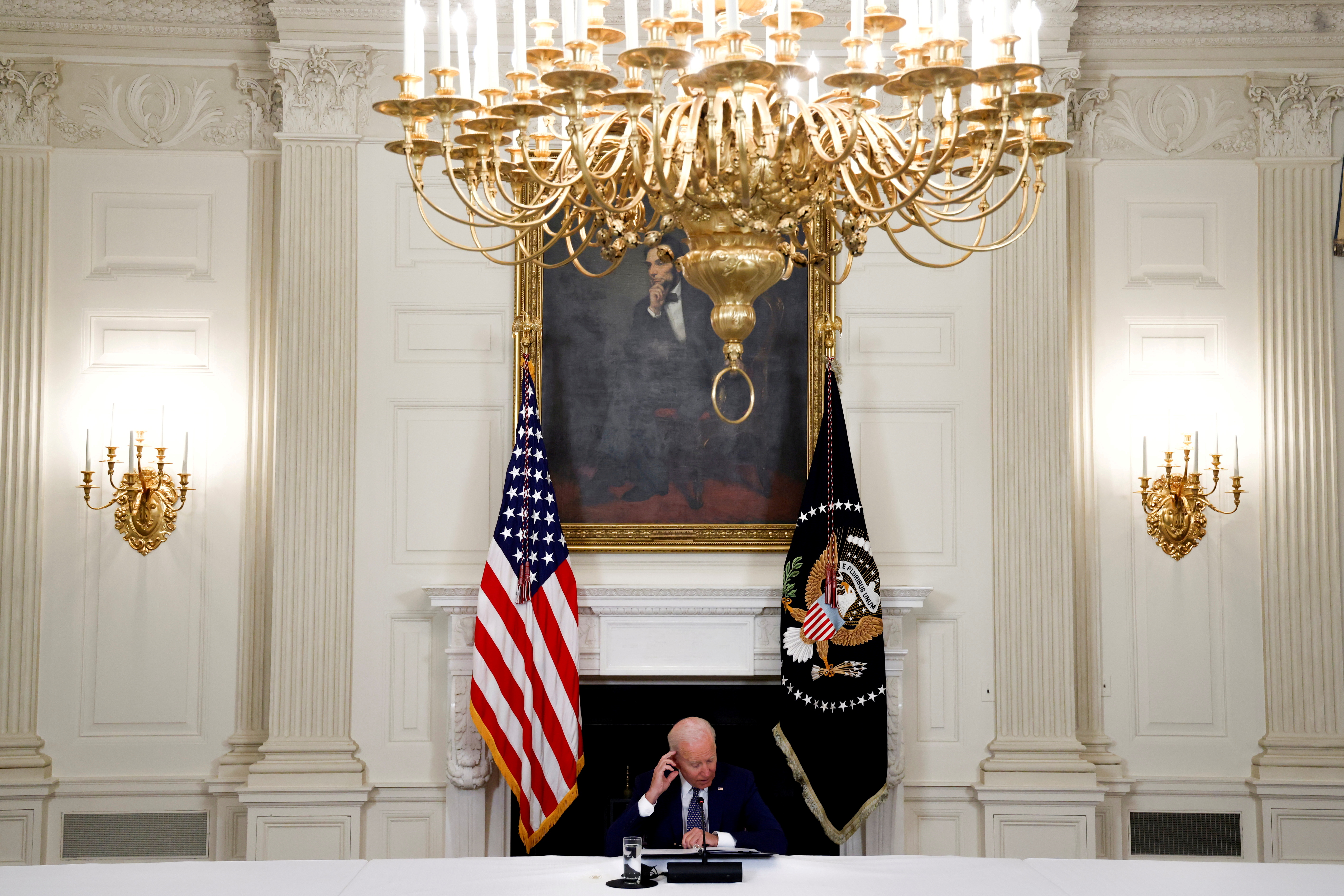 Biden put rights at heart of U.S. foreign policy. Then he pulled punches