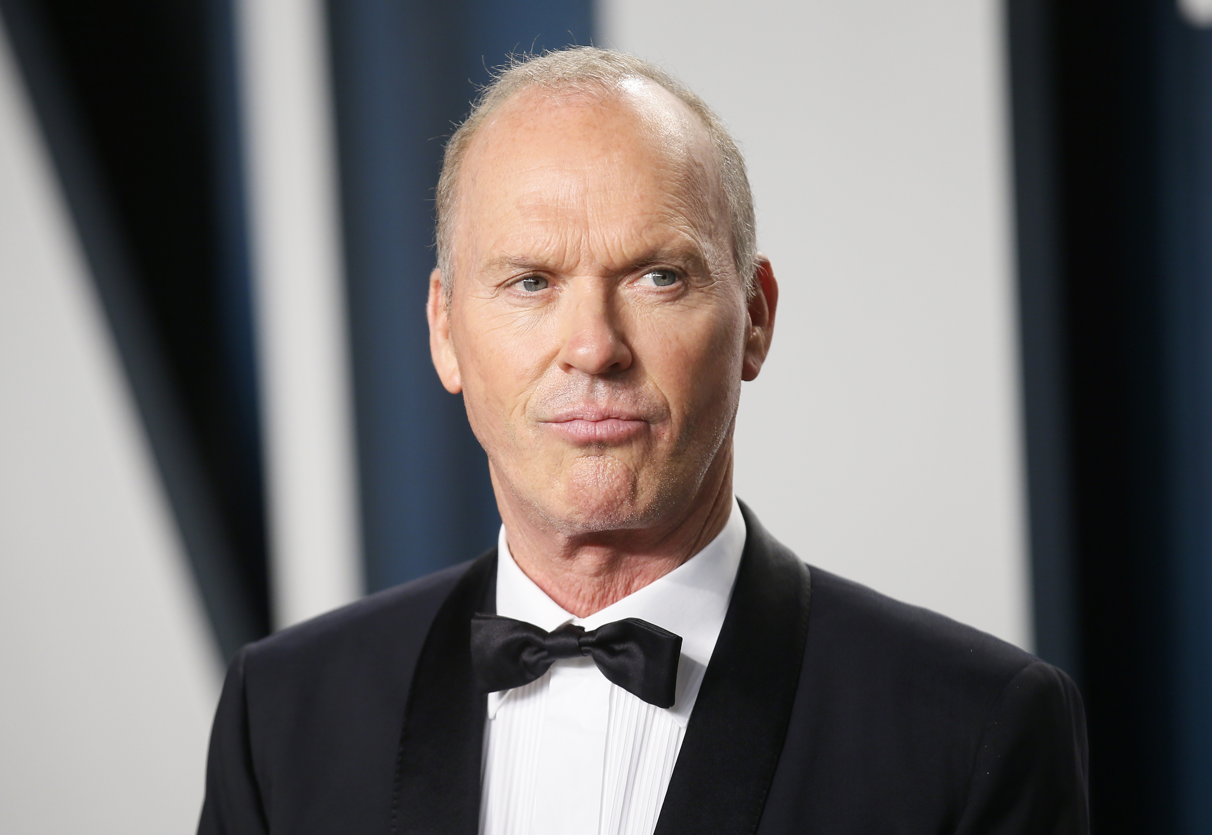 Michael Keaton attends the Vanity Fair Oscar party in Beverly Hills during the 92nd Academy Awards, in Los Angeles, California, U.S., February 9, 2020.     REUTERS/Danny Moloshok
